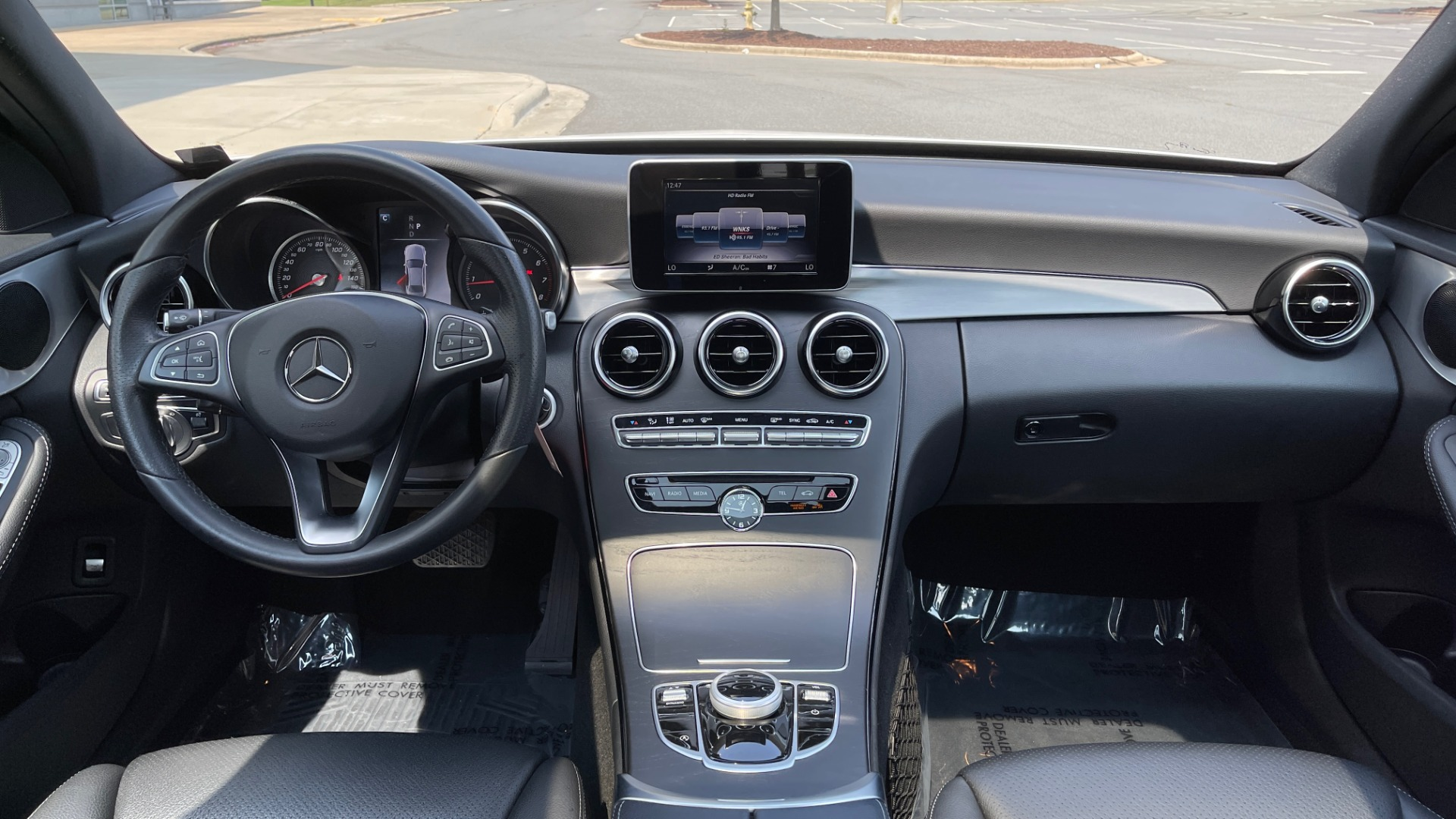 Used 2018 Mercedes-Benz C-CLASS C 300 / 2.0L / RWD / SUNROOF / APPLE~ANDROID / REARVIEW for sale $29,995 at Formula Imports in Charlotte NC 28227 50