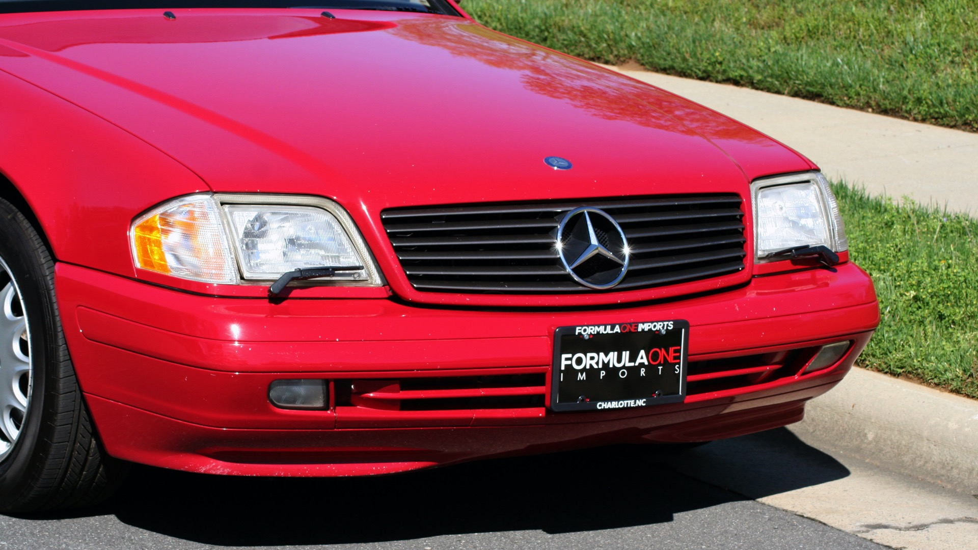 Used 1997 Mercedes-Benz SL-Class Roadster / BOSE / TWO-TOPS for sale Sold at Formula Imports in Charlotte NC 28227 101