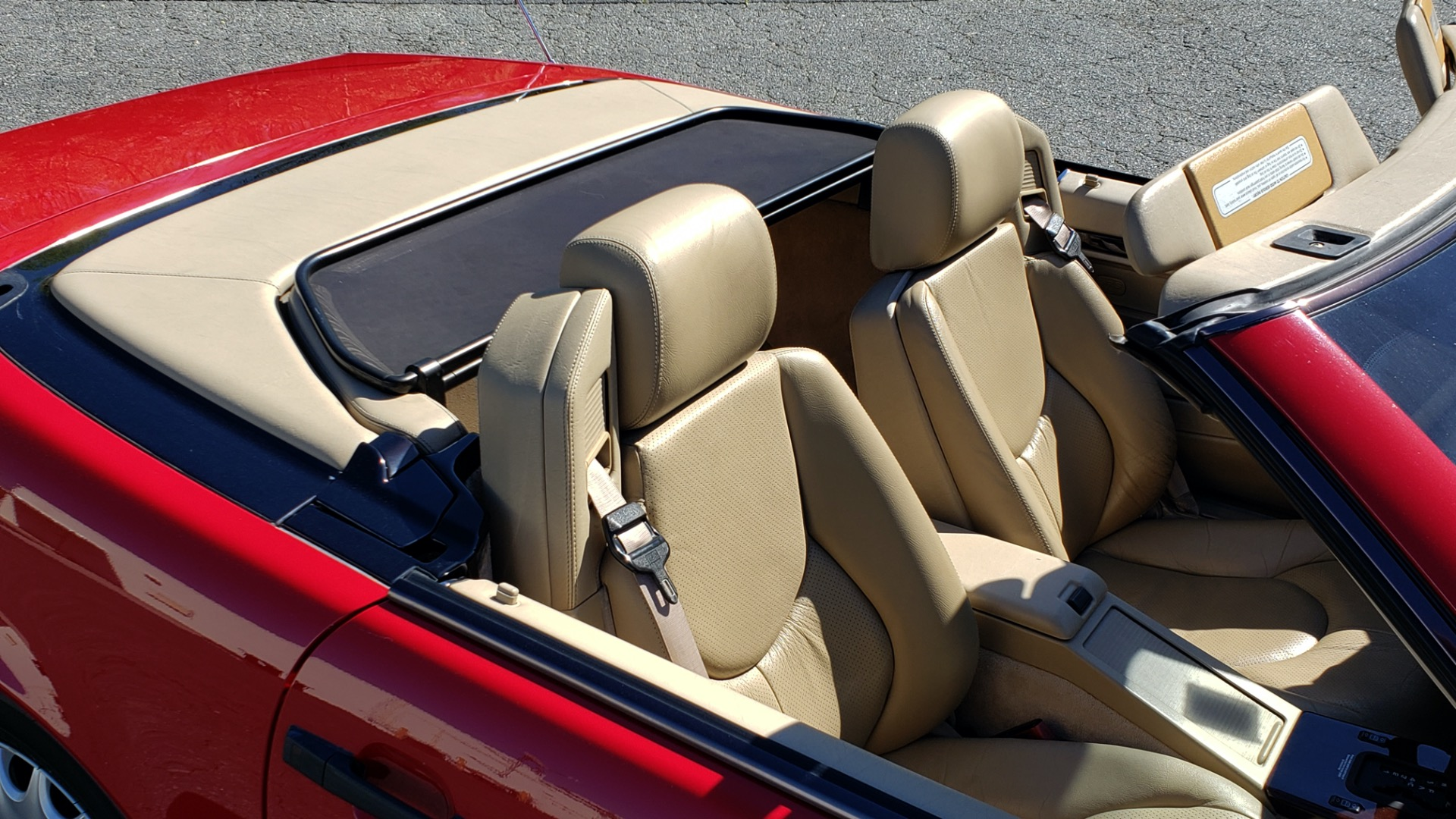 Used 1997 Mercedes-Benz SL-Class Roadster / BOSE / TWO-TOPS for sale Sold at Formula Imports in Charlotte NC 28227 72