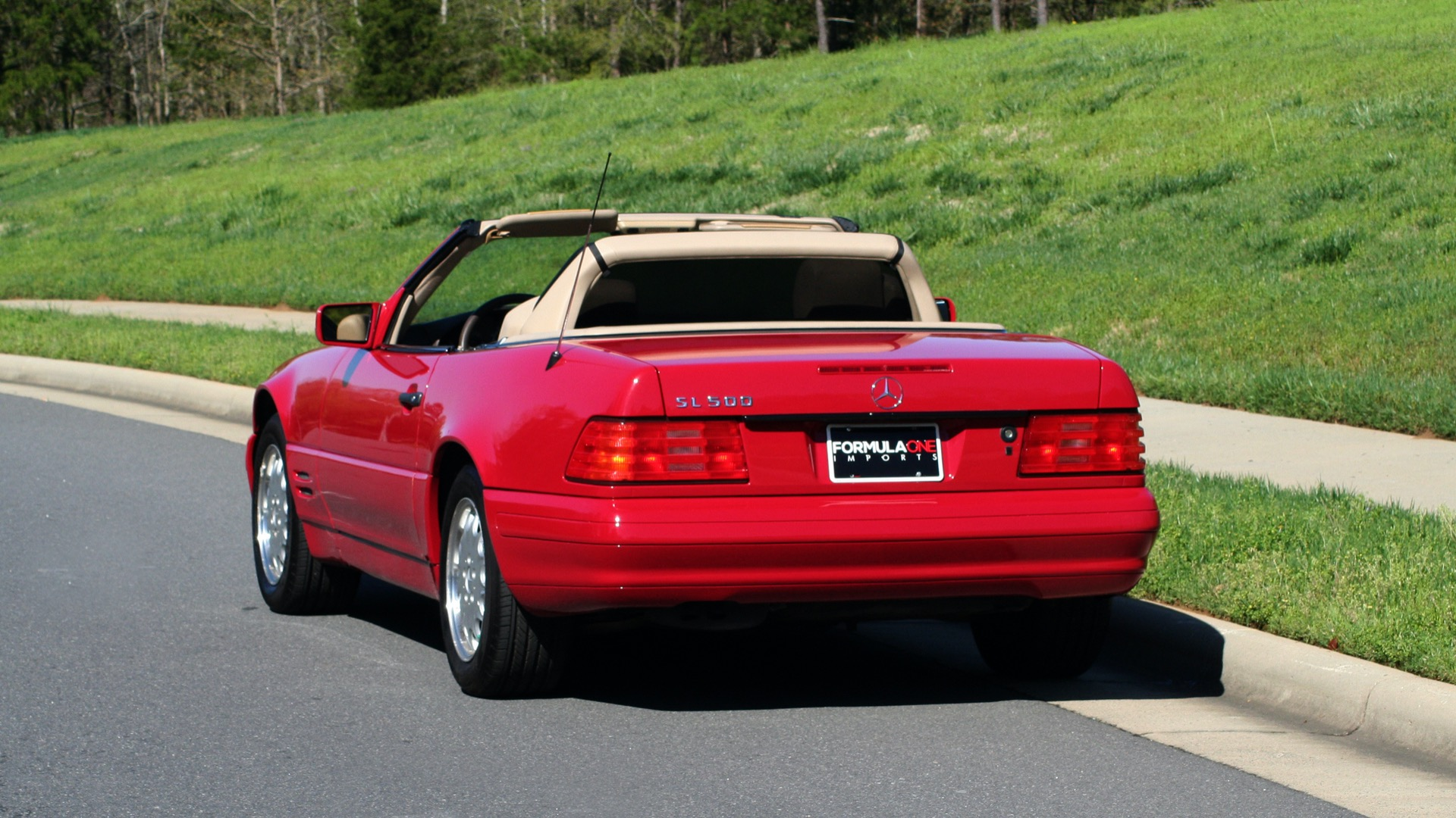 Used 1997 Mercedes-Benz SL-Class Roadster / BOSE / TWO-TOPS for sale Sold at Formula Imports in Charlotte NC 28227 85
