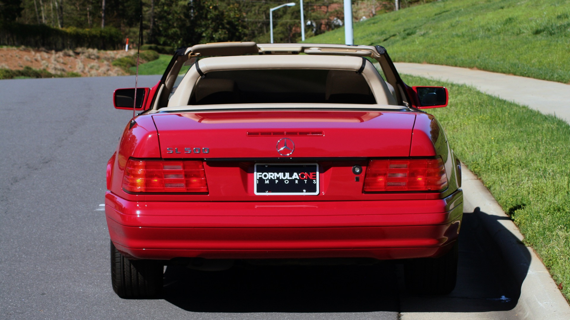 Used 1997 Mercedes-Benz SL-Class Roadster / BOSE / TWO-TOPS for sale Sold at Formula Imports in Charlotte NC 28227 89