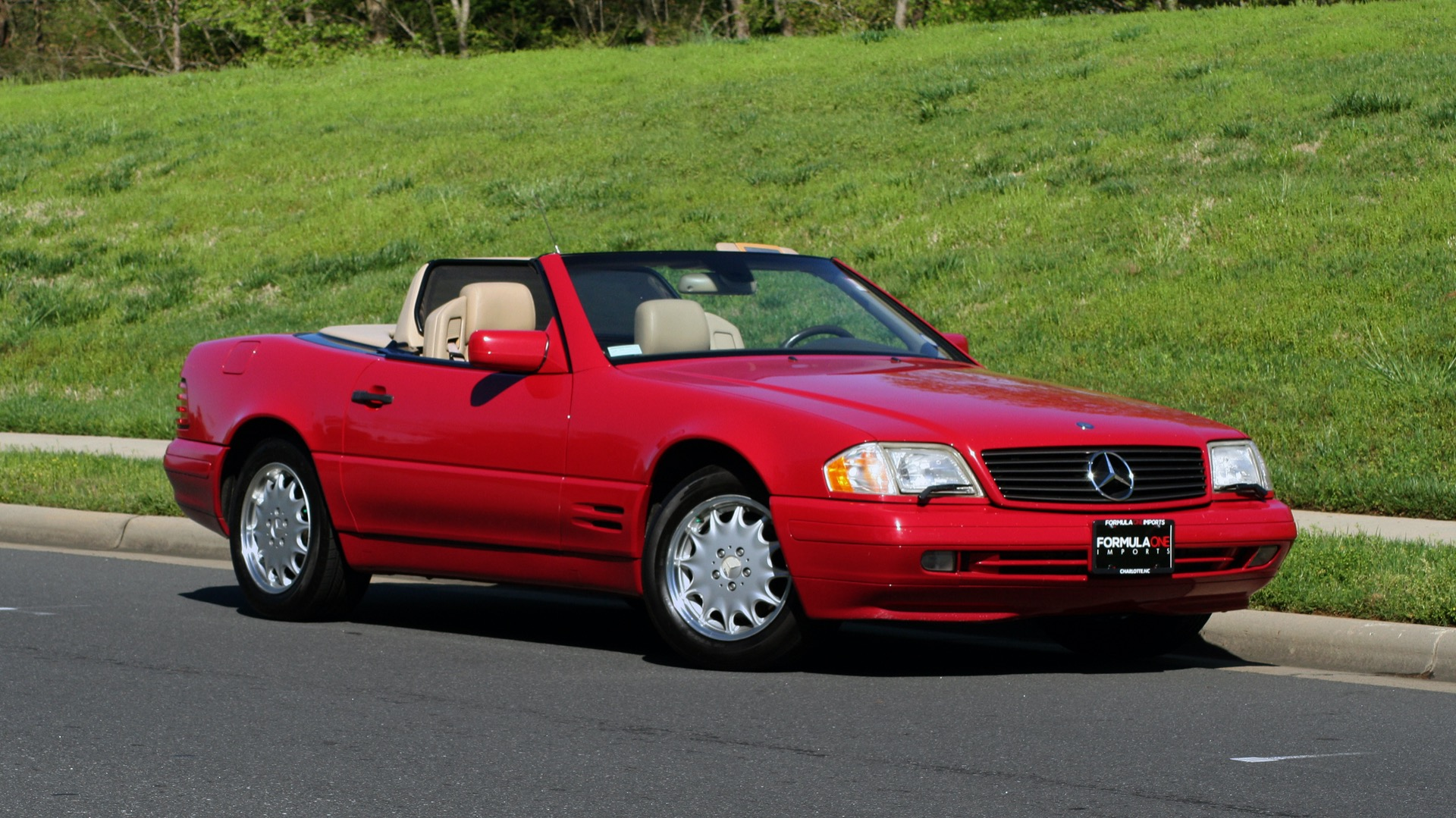 Used 1997 Mercedes-Benz SL-Class Roadster / BOSE / TWO-TOPS for sale Sold at Formula Imports in Charlotte NC 28227 93