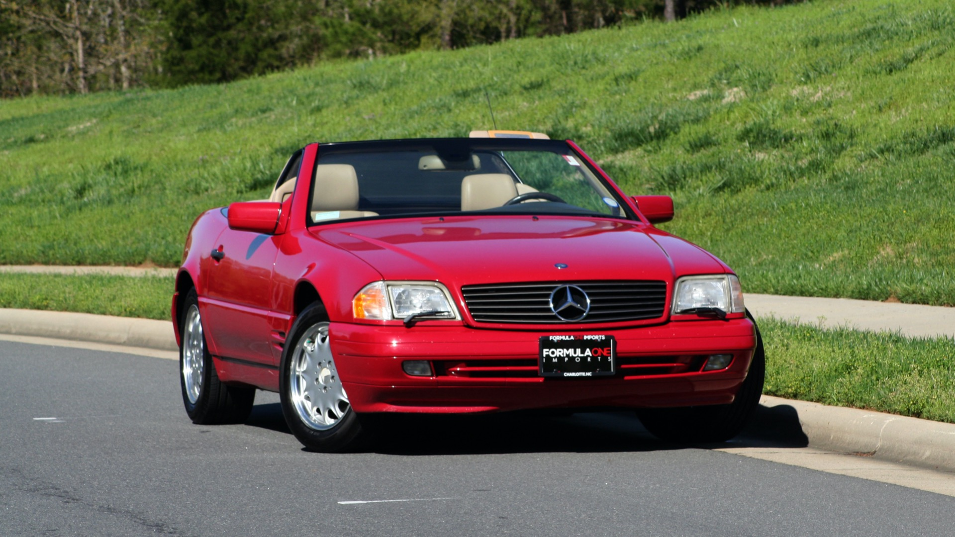 Used 1997 Mercedes-Benz SL-Class Roadster / BOSE / TWO-TOPS for sale Sold at Formula Imports in Charlotte NC 28227 95