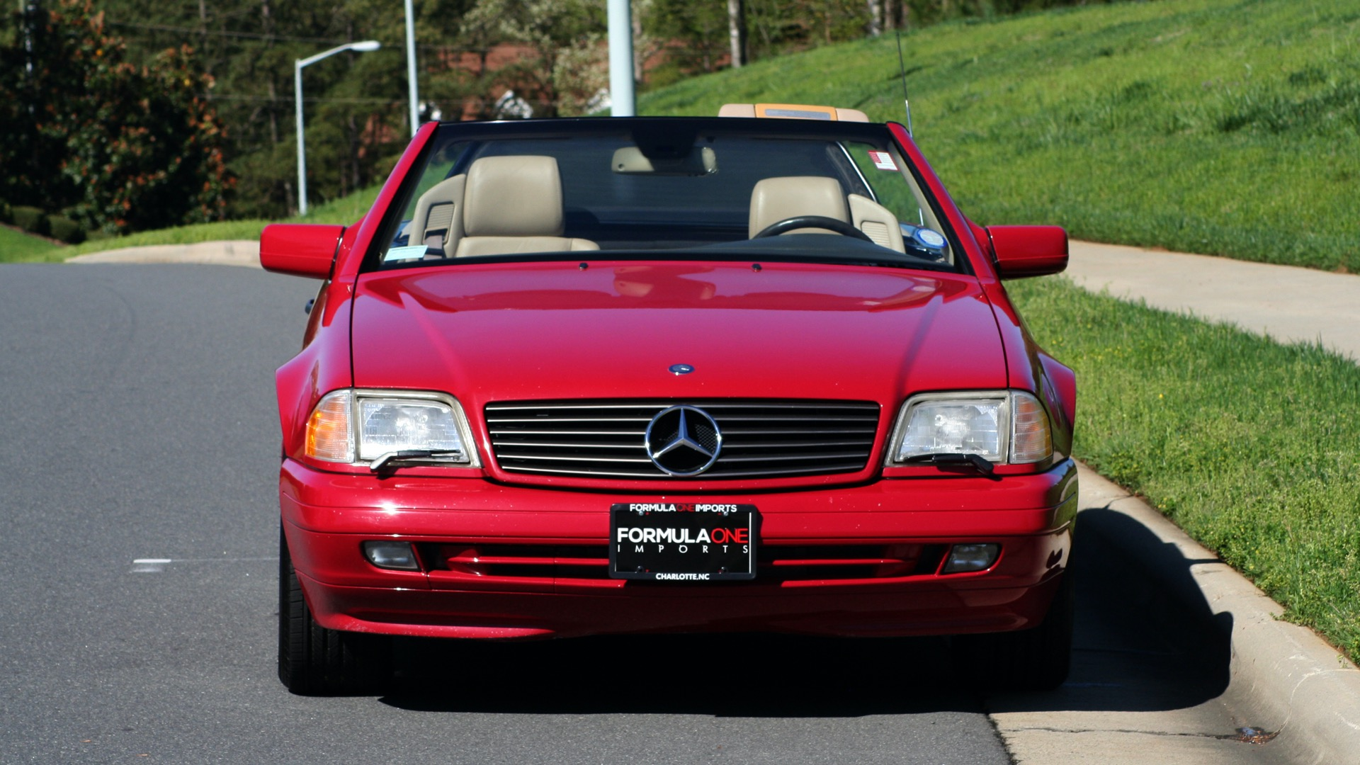 Used 1997 Mercedes-Benz SL-Class Roadster / BOSE / TWO-TOPS for sale Sold at Formula Imports in Charlotte NC 28227 97