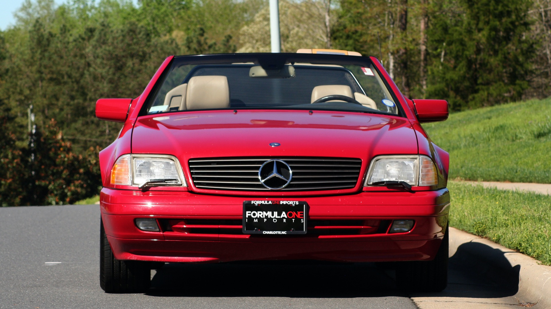 Used 1997 Mercedes-Benz SL-Class Roadster / BOSE / TWO-TOPS for sale Sold at Formula Imports in Charlotte NC 28227 98