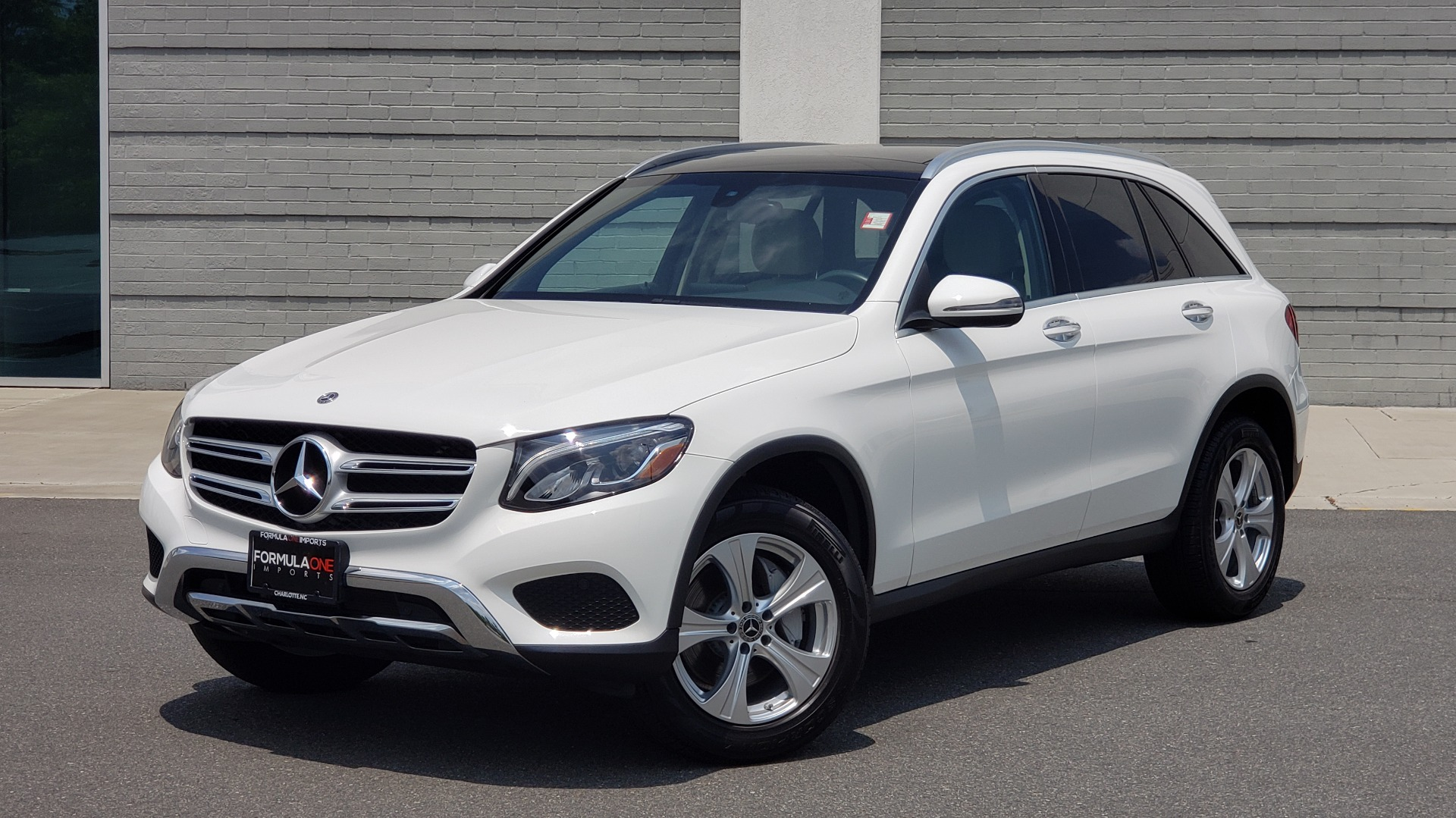 Used 2018 Mercedes-Benz GLC 300 PREMIUM 4MATIC / PANO-ROOF / BURMESTER / REARVIEW for sale $36,295 at Formula Imports in Charlotte NC 28227 1