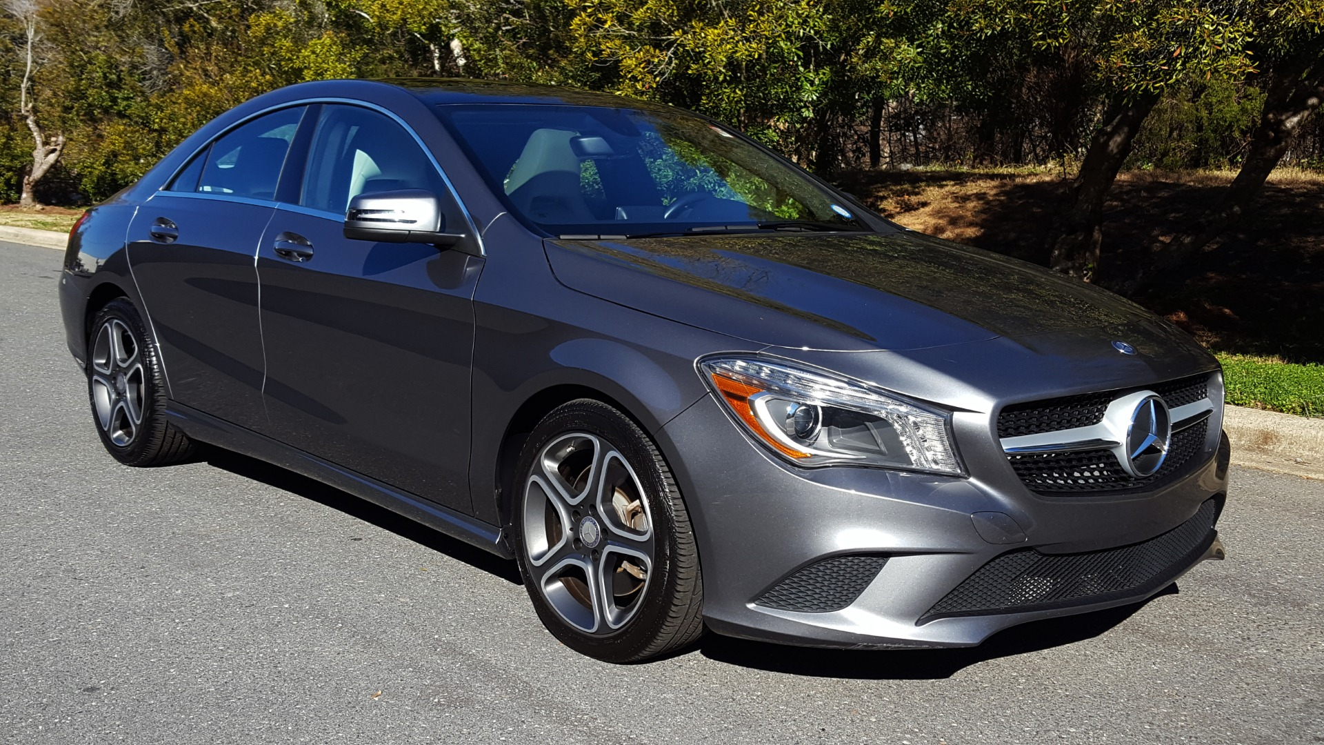 Used 2014 Mercedes-Benz CLA-CLASS CLA 250 / NAV / PANO-ROOF / BLIND SPOT ASSIST / XENON HEADLIGHTS for sale $19,995 at Formula Imports in Charlotte NC 28227 6