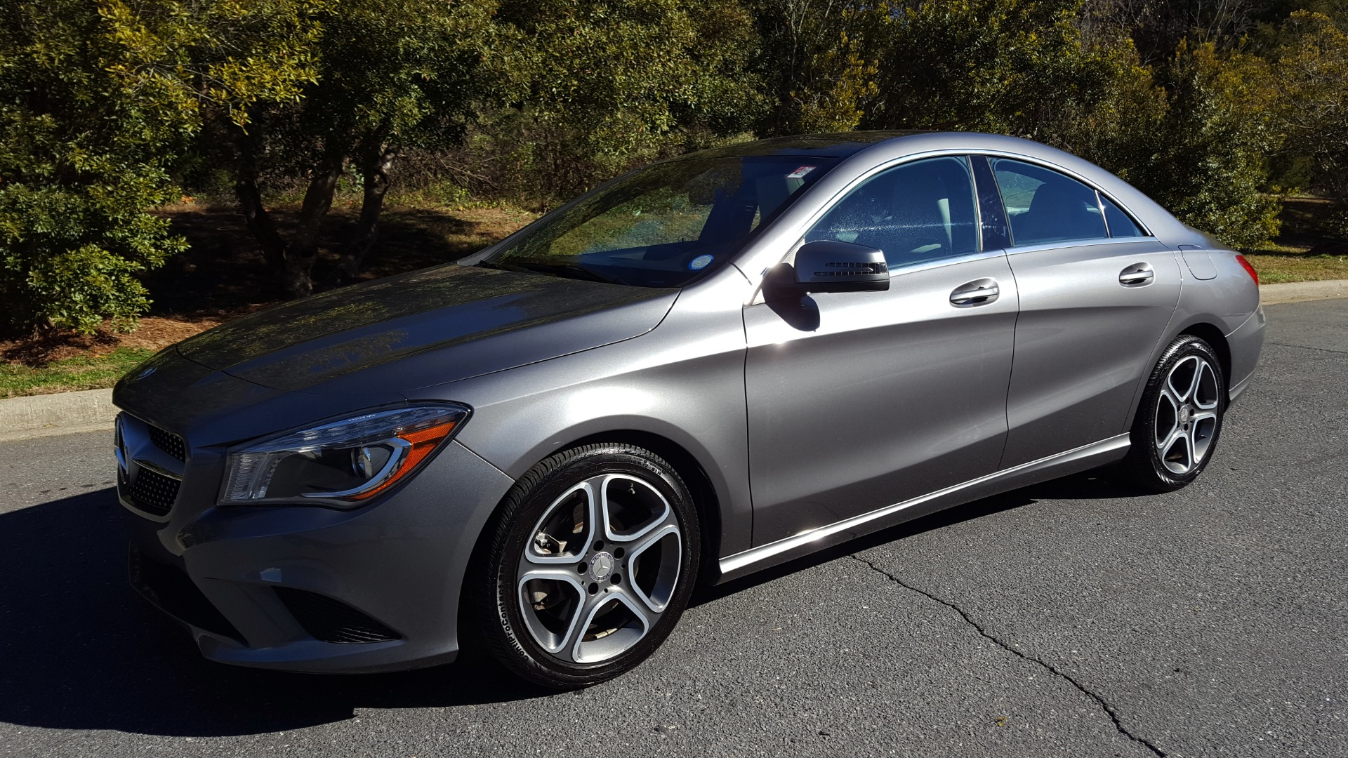 Used 2014 Mercedes-Benz CLA-CLASS CLA 250 / NAV / PANO-ROOF / BLIND SPOT ASSIST / XENON HEADLIGHTS for sale $19,995 at Formula Imports in Charlotte NC 28227 1