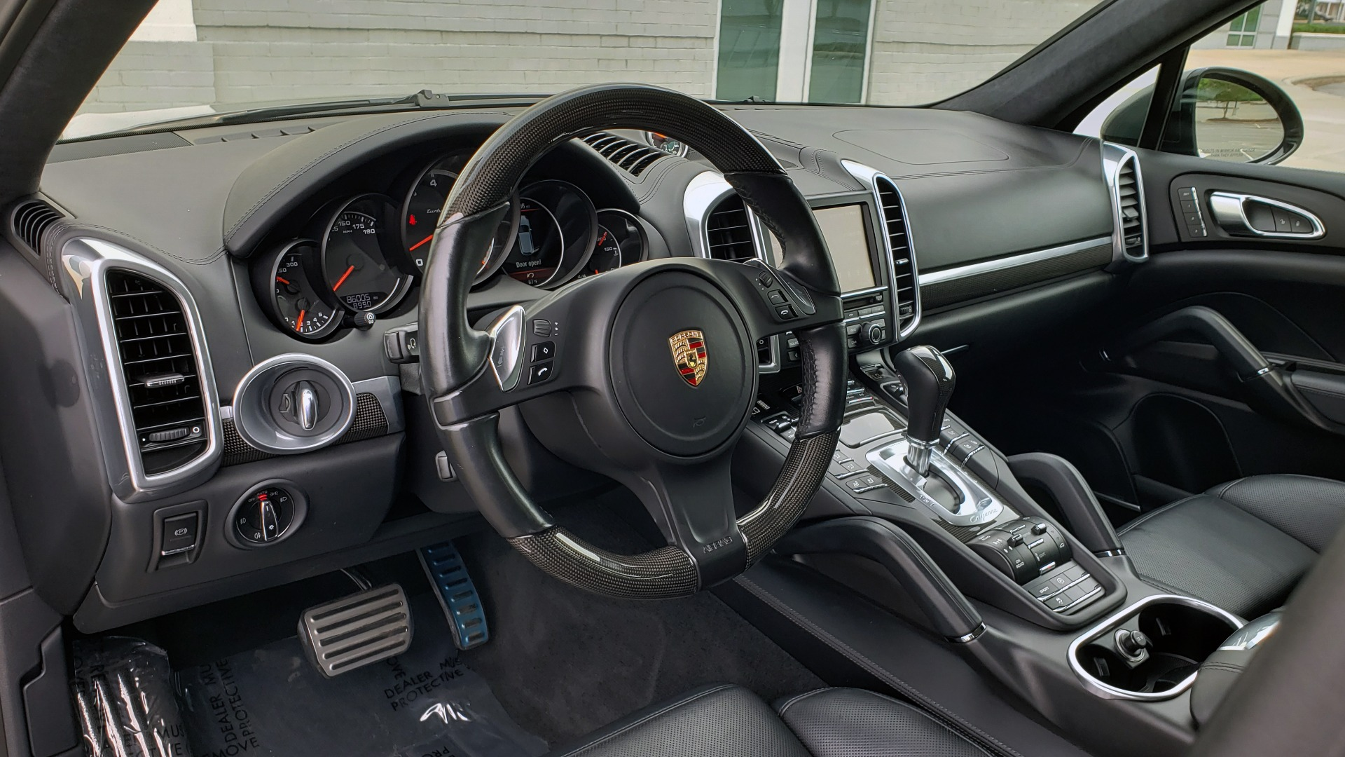 Used 2014 Porsche CAYENNE TURBO S / AWD / NAV / BOSE / PANO-ROOF / LCA / REARVIEW for sale Sold at Formula Imports in Charlotte NC 28227 44