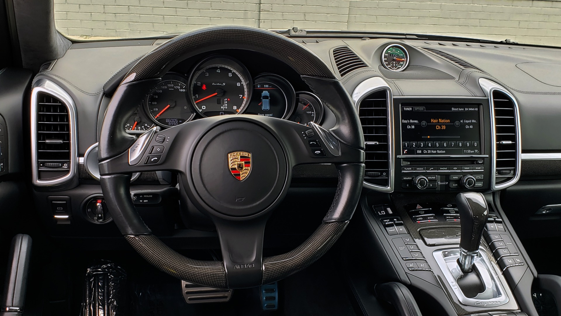 Used 2014 Porsche CAYENNE TURBO S / AWD / NAV / BOSE / PANO-ROOF / LCA / REARVIEW for sale Sold at Formula Imports in Charlotte NC 28227 46