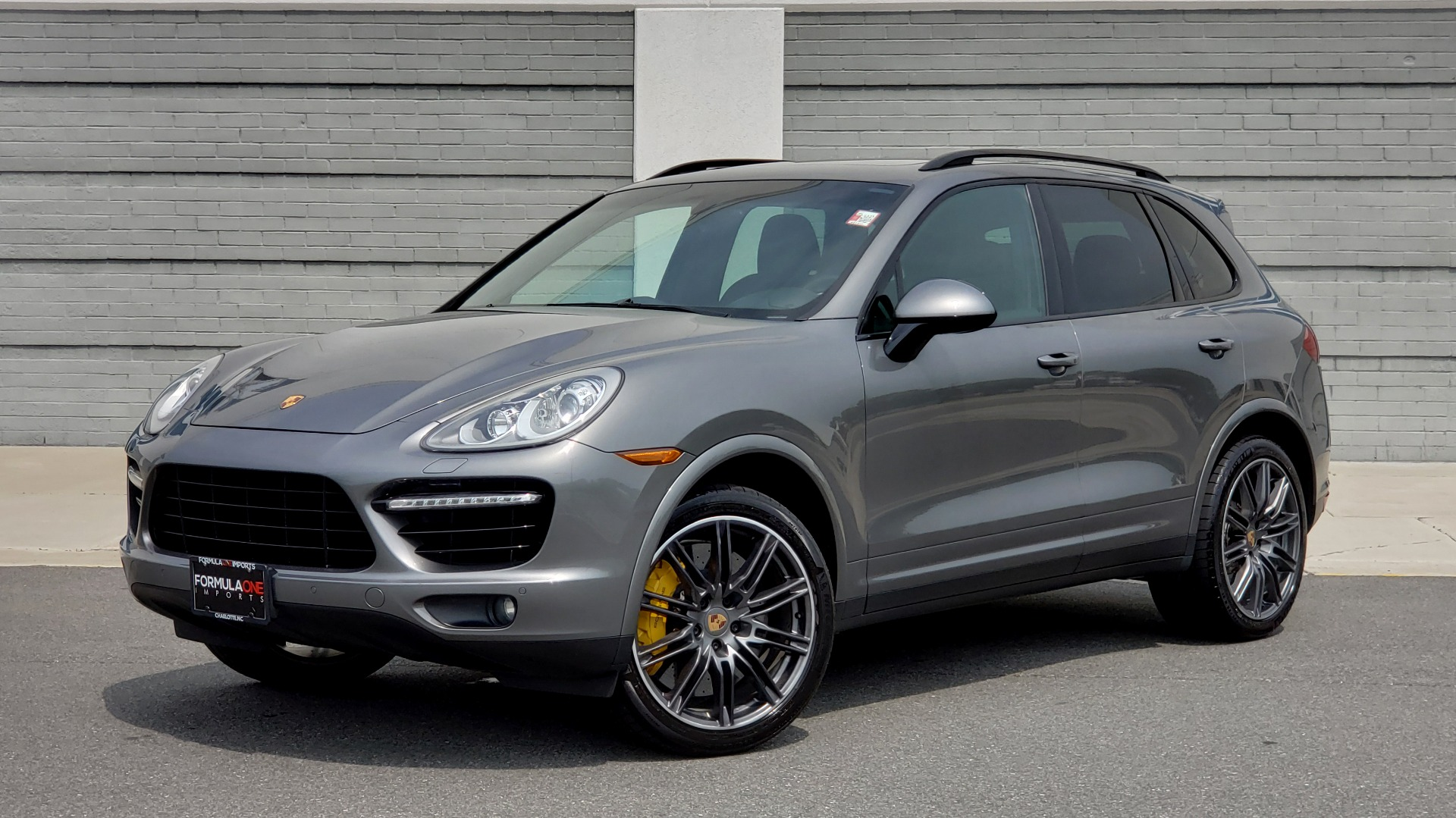 Used 2014 Porsche CAYENNE TURBO S / AWD / NAV / BOSE / PANO-ROOF / LCA / REARVIEW for sale Sold at Formula Imports in Charlotte NC 28227 1