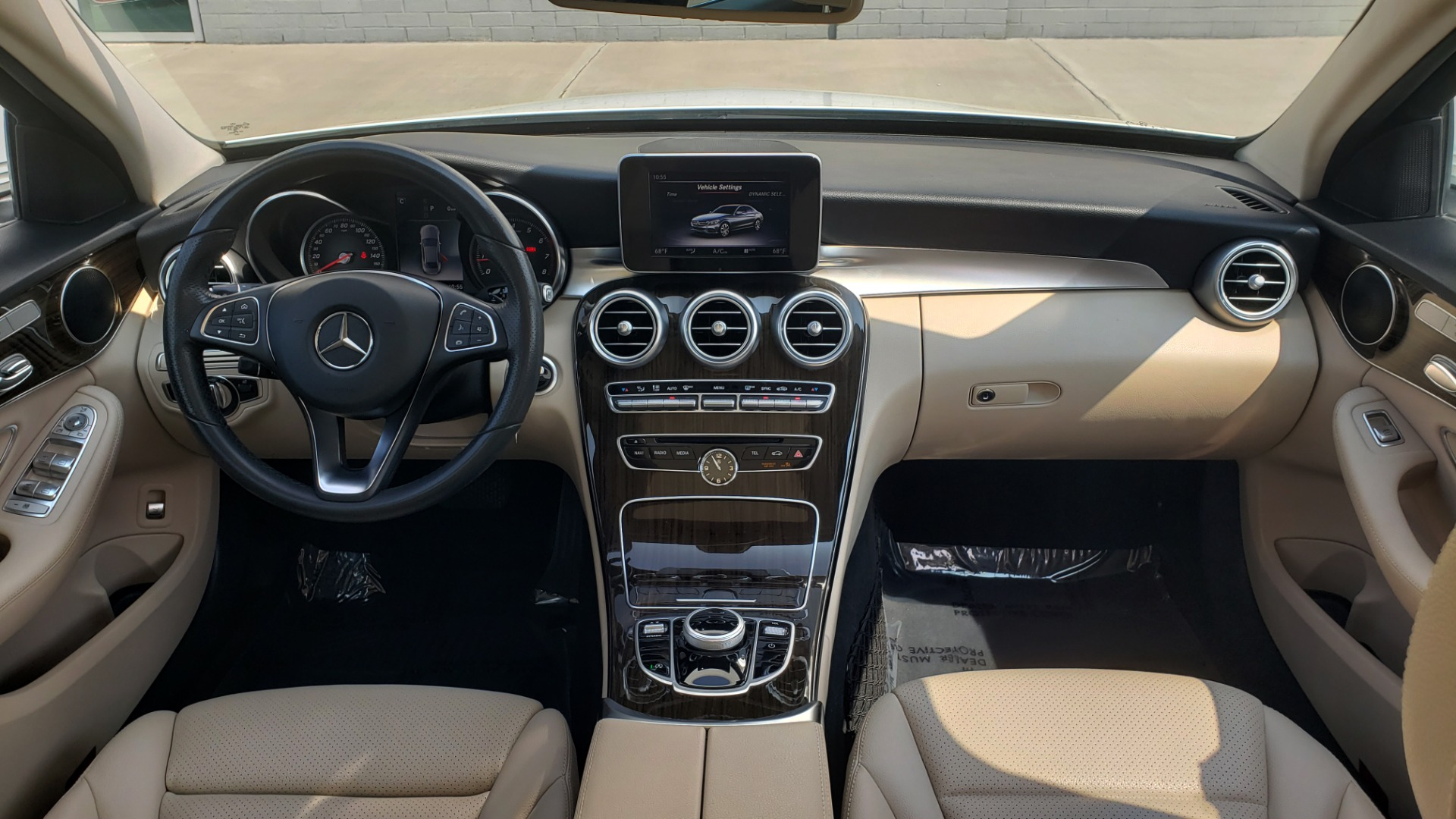 Used 2018 Mercedes-Benz C-CLASS C 300 PREMIUM / KEYLESS-GO / APPLE / PANO-ROOF / REARVIEW for sale $28,295 at Formula Imports in Charlotte NC 28227 70
