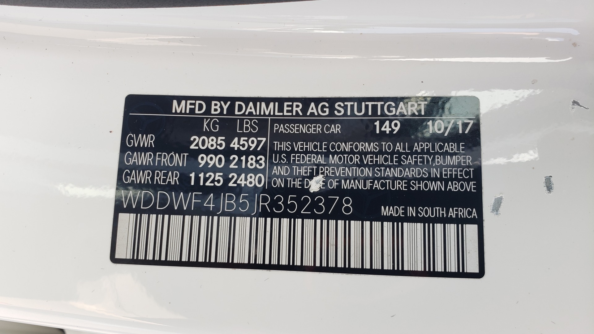 Used 2018 Mercedes-Benz C-CLASS C 300 PREMIUM / KEYLESS-GO / APPLE / PANO-ROOF / REARVIEW for sale $28,295 at Formula Imports in Charlotte NC 28227 80