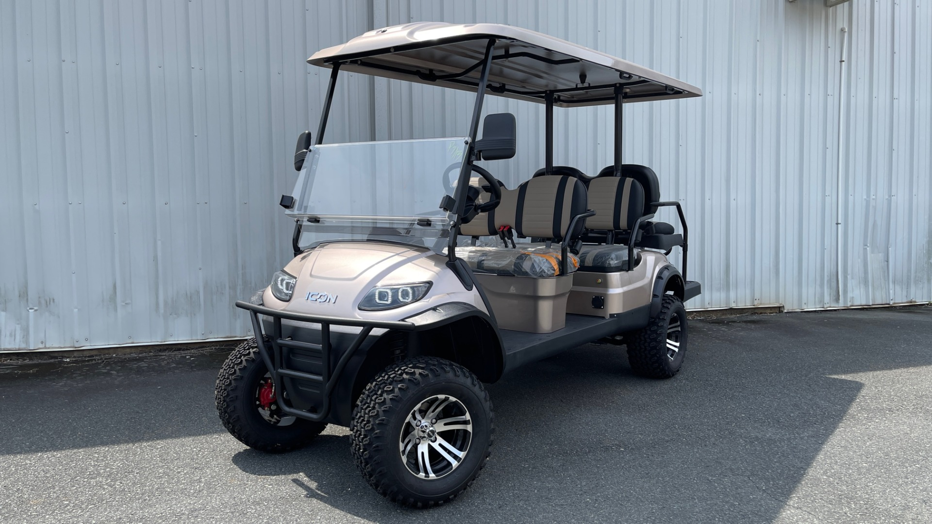 Used 2021 ICON I60L LIFTED ELECTRIC CAR / 6-PASSENGER GOLF CART / 25MPH / NEW / 1-MILE for sale $11,399 at Formula Imports in Charlotte NC 28227 1