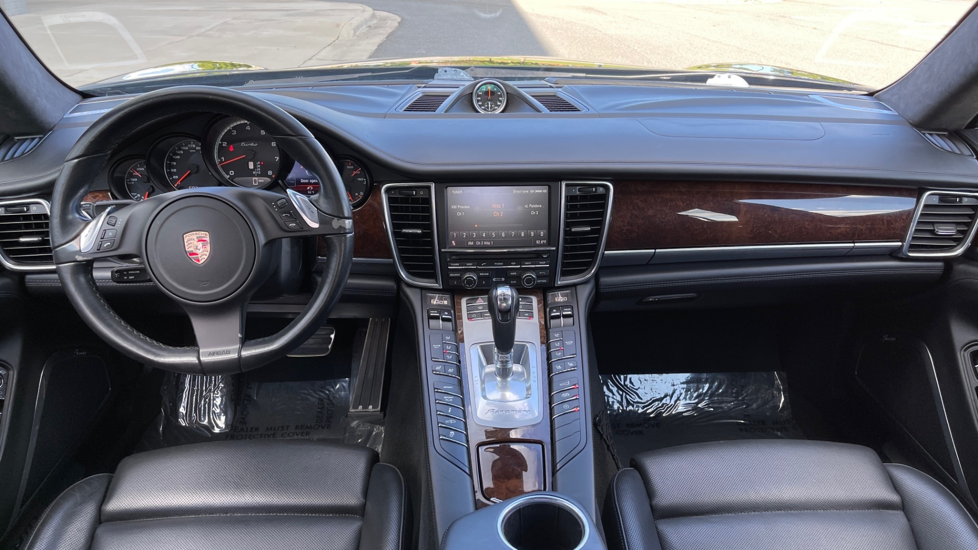 Used 2010 Porsche PANAMERA 4DR HB TURBO / SPORT CHRONO / BURMESTER / AUTO CLIMATE CONTROL for sale $40,995 at Formula Imports in Charlotte NC 28227 55