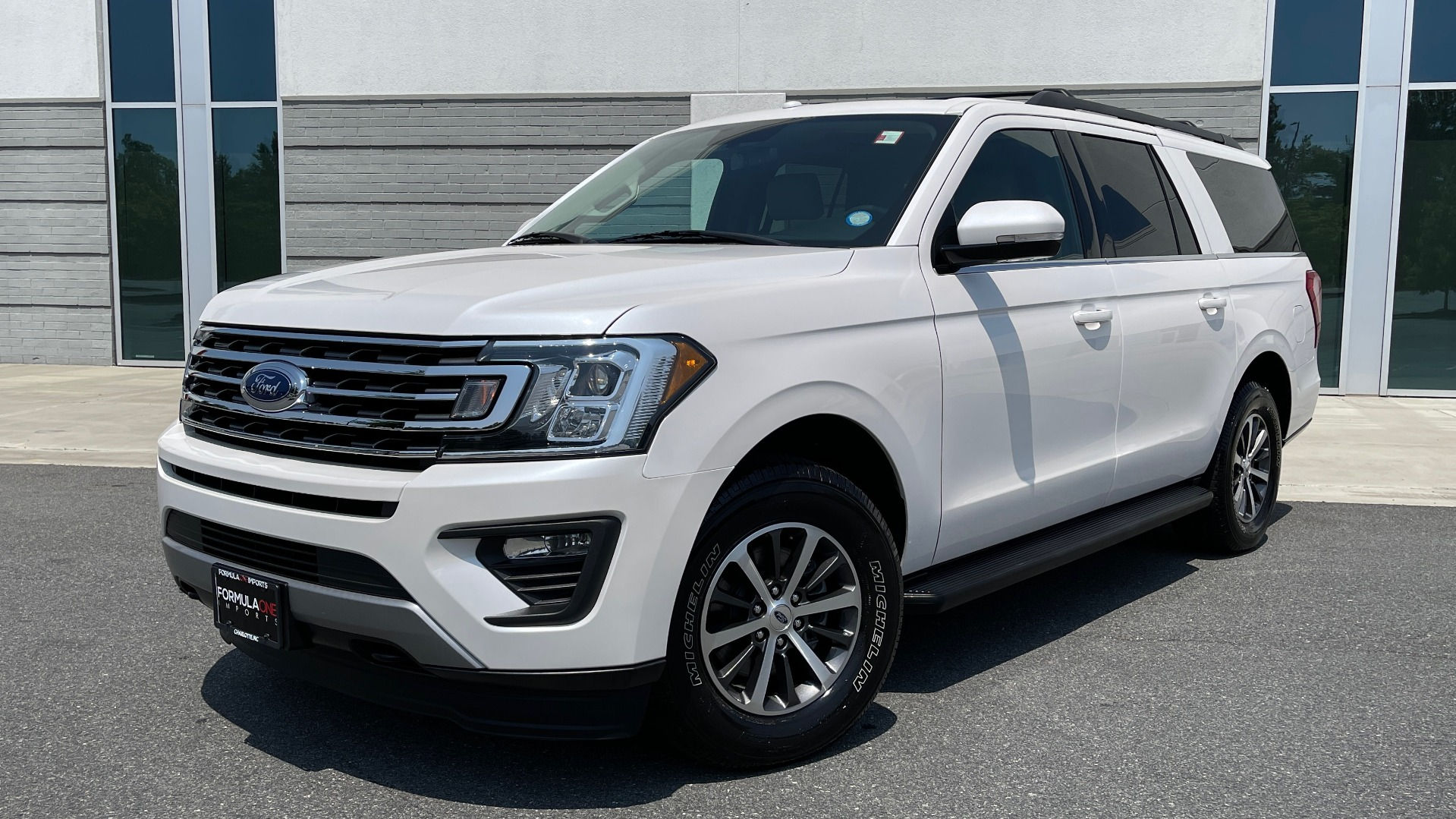 Used 2019 Ford EXPEDITION MAX XLT / 3.5L ECOBOOST / NAV / PANO-ROOF / 3-ROWS / REARVIEW for sale Sold at Formula Imports in Charlotte NC 28227 1