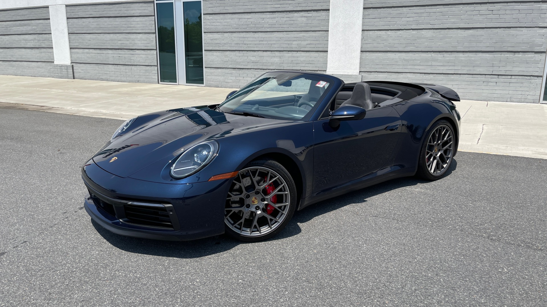 Used 2020 Porsche 911 CARRERA S CABRIOLET PREMIUM SPORT / LCA / ACC / BOSE / REARVIEW for sale $159,995 at Formula Imports in Charlotte NC 28227 3