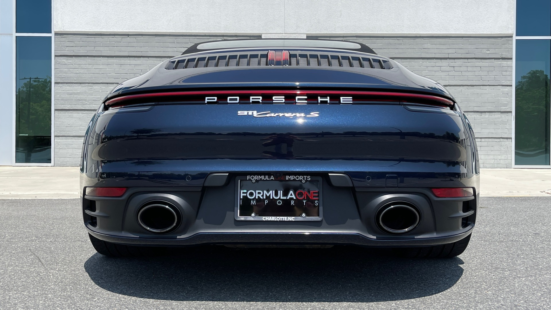 Used 2020 Porsche 911 CARRERA S CABRIOLET PREMIUM SPORT / LCA / ACC / BOSE / REARVIEW for sale $159,995 at Formula Imports in Charlotte NC 28227 31