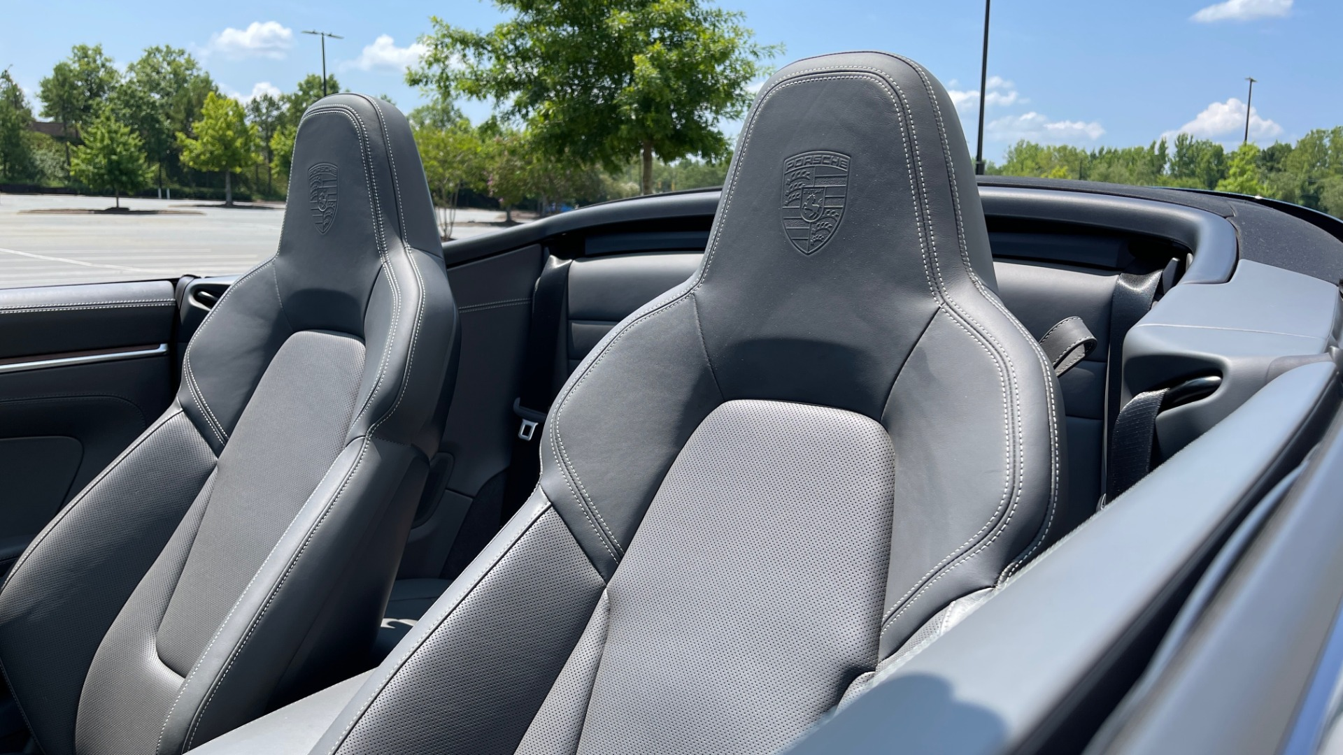 Used 2020 Porsche 911 CARRERA S CABRIOLET PREMIUM SPORT / LCA / ACC / BOSE / REARVIEW for sale $159,995 at Formula Imports in Charlotte NC 28227 84
