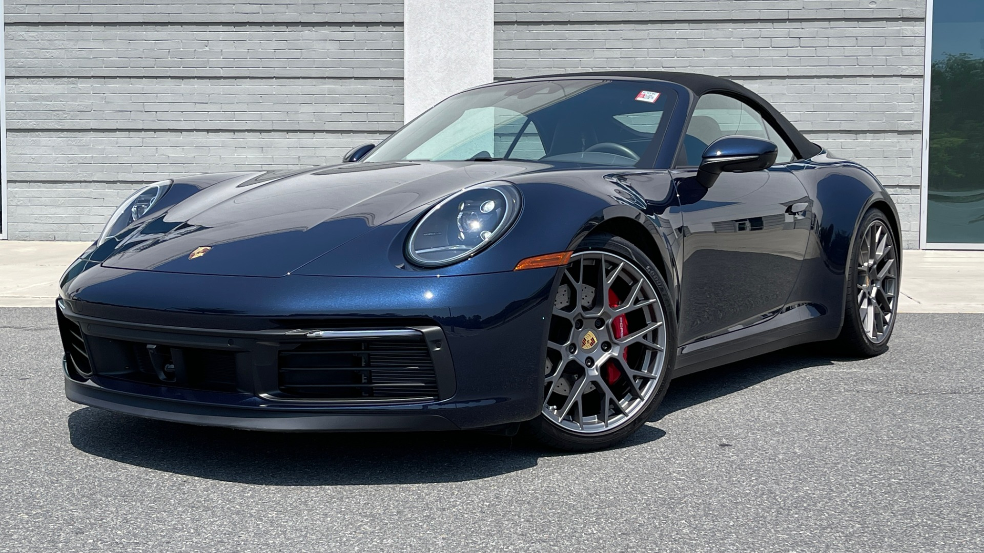 Used 2020 Porsche 911 CARRERA S CABRIOLET PREMIUM SPORT / LCA / ACC / BOSE / REARVIEW for sale $159,995 at Formula Imports in Charlotte NC 28227 1