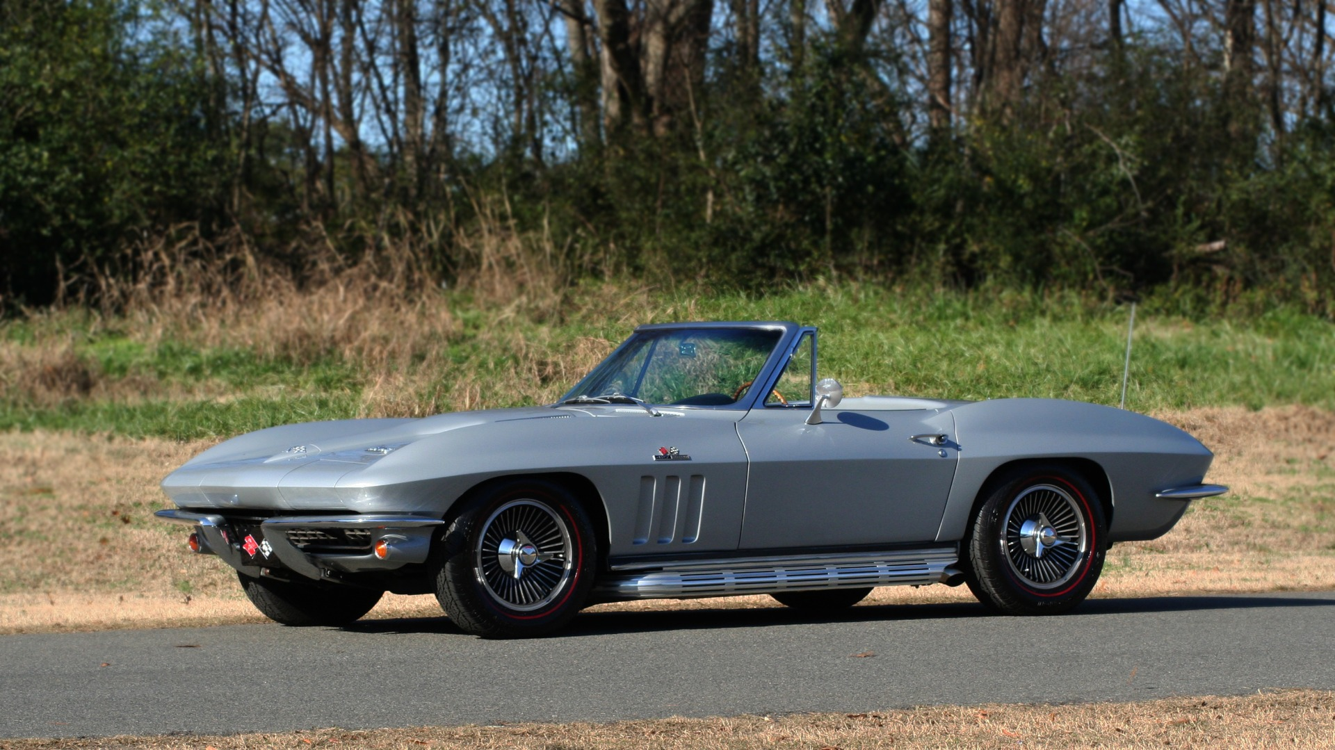 Used 1966 Chevrolet CORVETTE STINGRAY CONVERTIBLE 427 / 4-SPD / NUMBER MATCHING for sale Sold at Formula Imports in Charlotte NC 28227 2