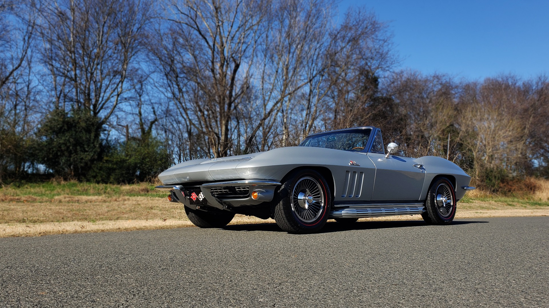 Used 1966 Chevrolet CORVETTE STINGRAY CONVERTIBLE 427 / 4-SPD / NUMBER MATCHING for sale Sold at Formula Imports in Charlotte NC 28227 21