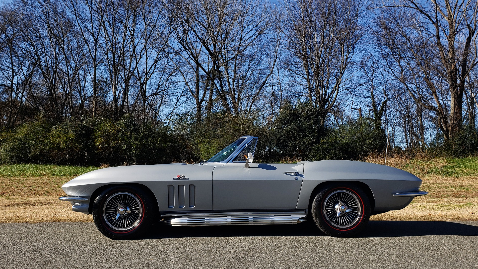 Used 1966 Chevrolet CORVETTE STINGRAY CONVERTIBLE 427 / 4-SPD / NUMBER MATCHING for sale Sold at Formula Imports in Charlotte NC 28227 23
