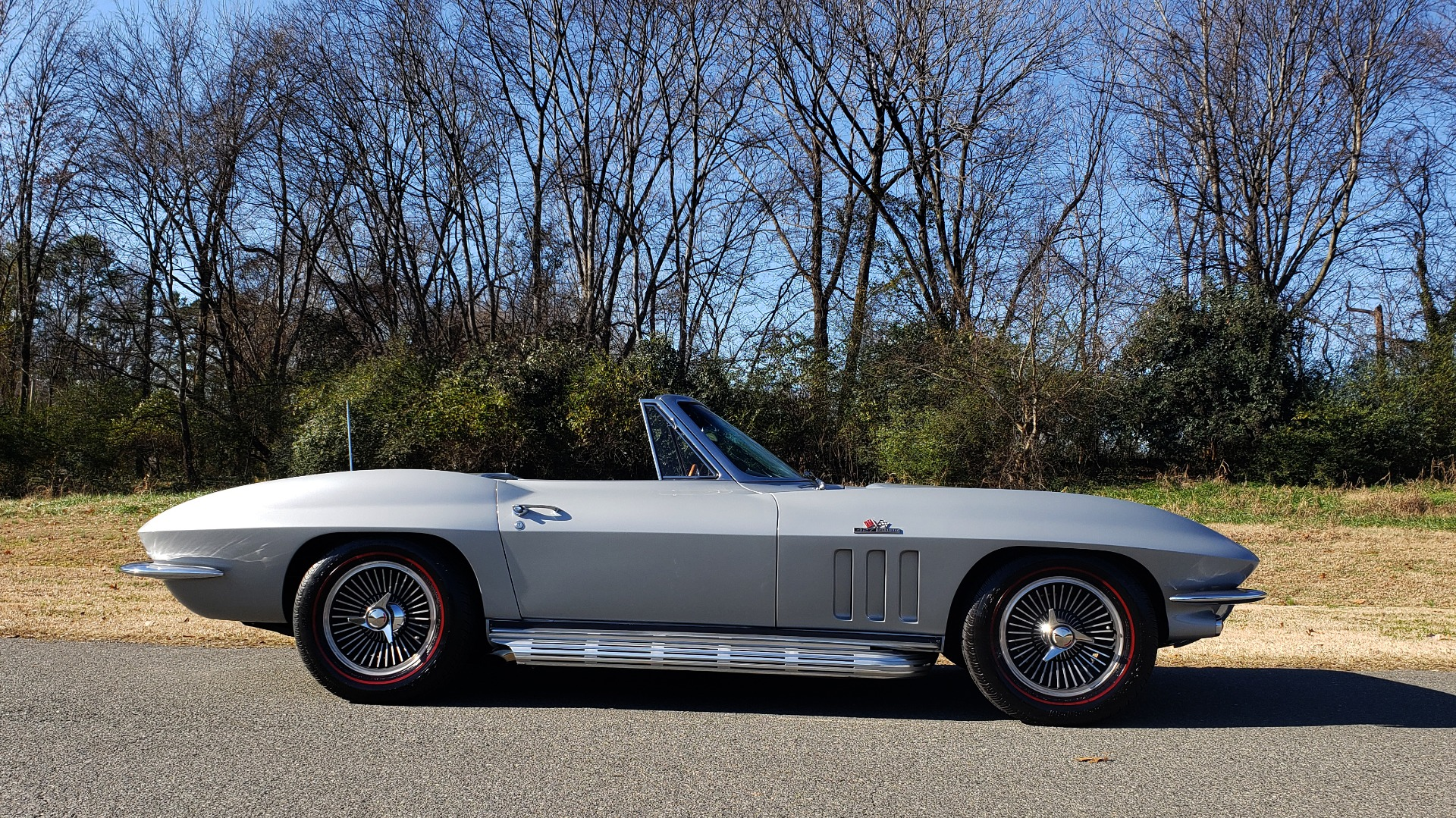 Used 1966 Chevrolet CORVETTE STINGRAY CONVERTIBLE 427 / 4-SPD / NUMBER MATCHING for sale Sold at Formula Imports in Charlotte NC 28227 47