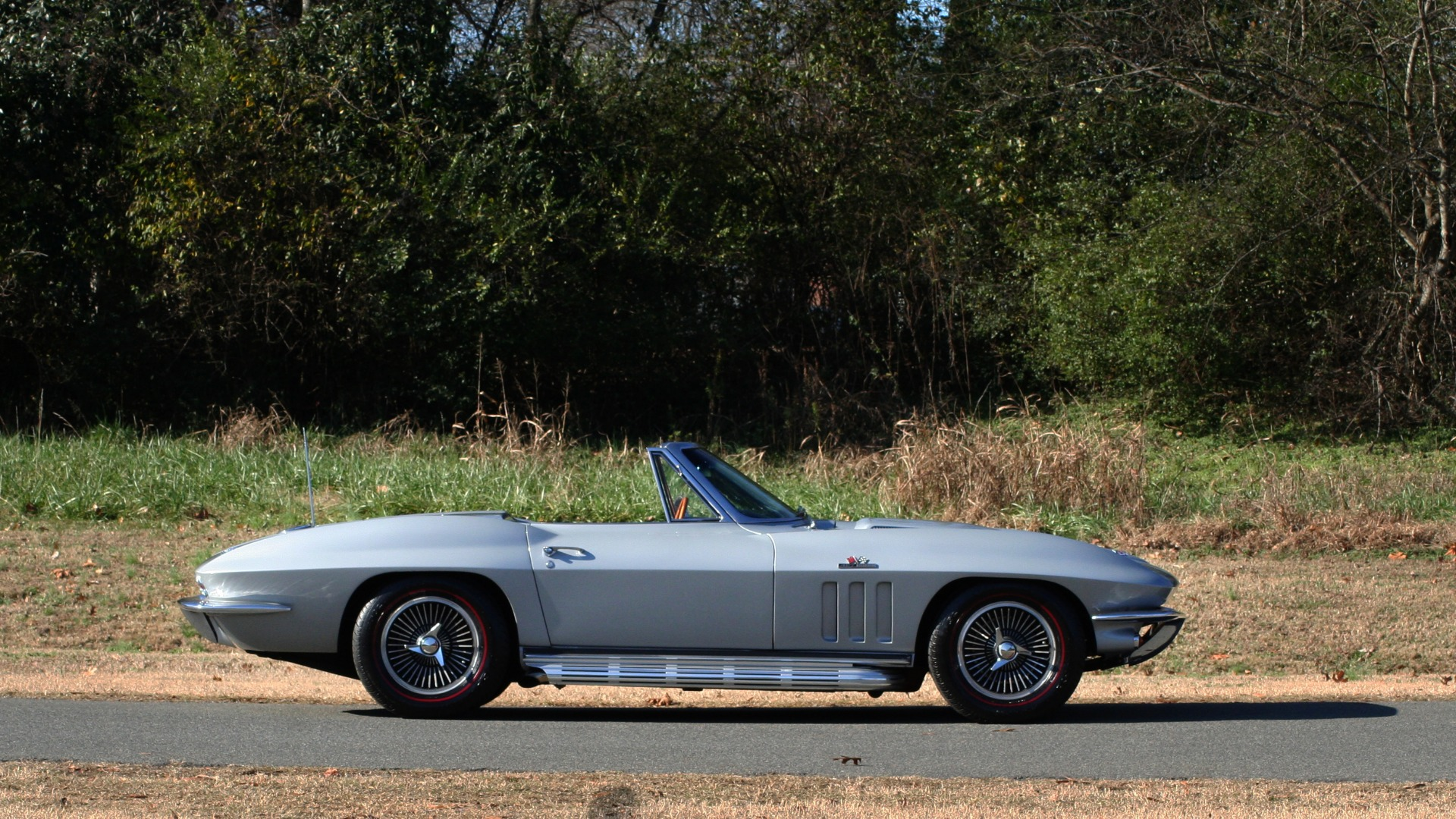 Used 1966 Chevrolet CORVETTE STINGRAY CONVERTIBLE 427 / 4-SPD / NUMBER MATCHING for sale Sold at Formula Imports in Charlotte NC 28227 7