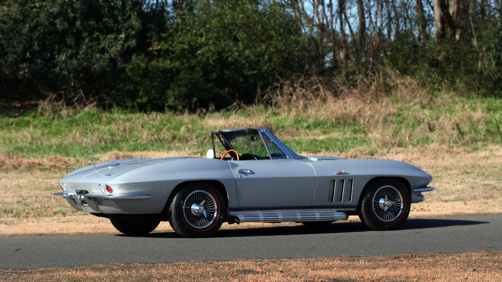Used 1966 Chevrolet CORVETTE STINGRAY CONVERTIBLE 427 / 4-SPD / NUMBER MATCHING for sale Sold at Formula Imports in Charlotte NC 28227 8