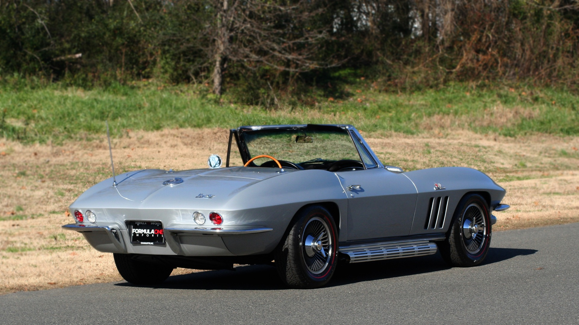 Used 1966 Chevrolet CORVETTE STINGRAY CONVERTIBLE 427 / 4-SPD / NUMBER MATCHING for sale Sold at Formula Imports in Charlotte NC 28227 9