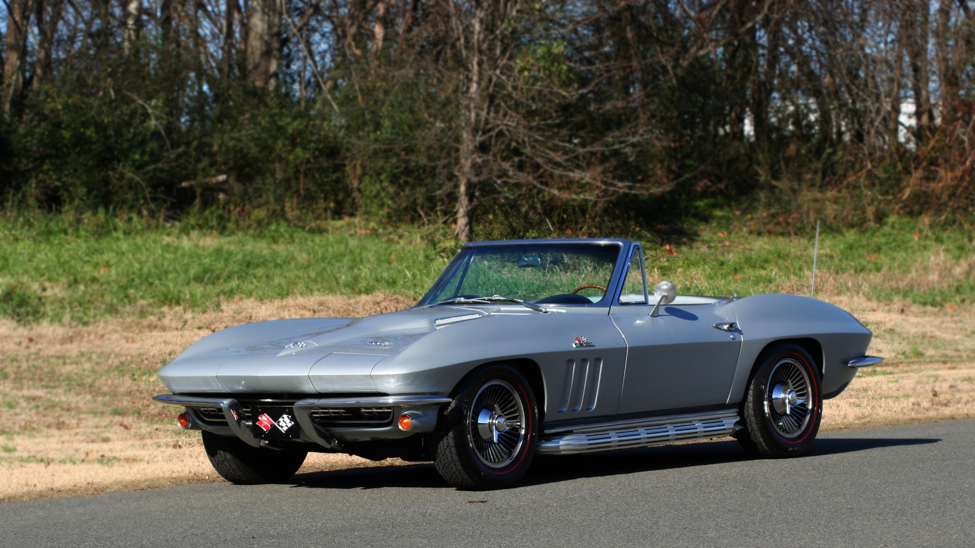Used 1966 Chevrolet CORVETTE STINGRAY CONVERTIBLE 427 / 4-SPD / NUMBER MATCHING for sale Sold at Formula Imports in Charlotte NC 28227 1
