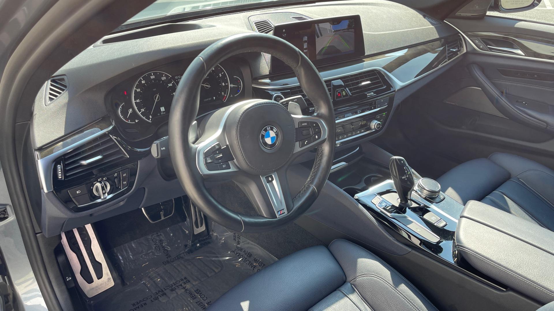 Used 2018 BMW 5 SERIES 540I XDRIVE M-SPORT / DRVR ASST / PDC / APPLE / HUD / H/K SND for sale $42,795 at Formula Imports in Charlotte NC 28227 34