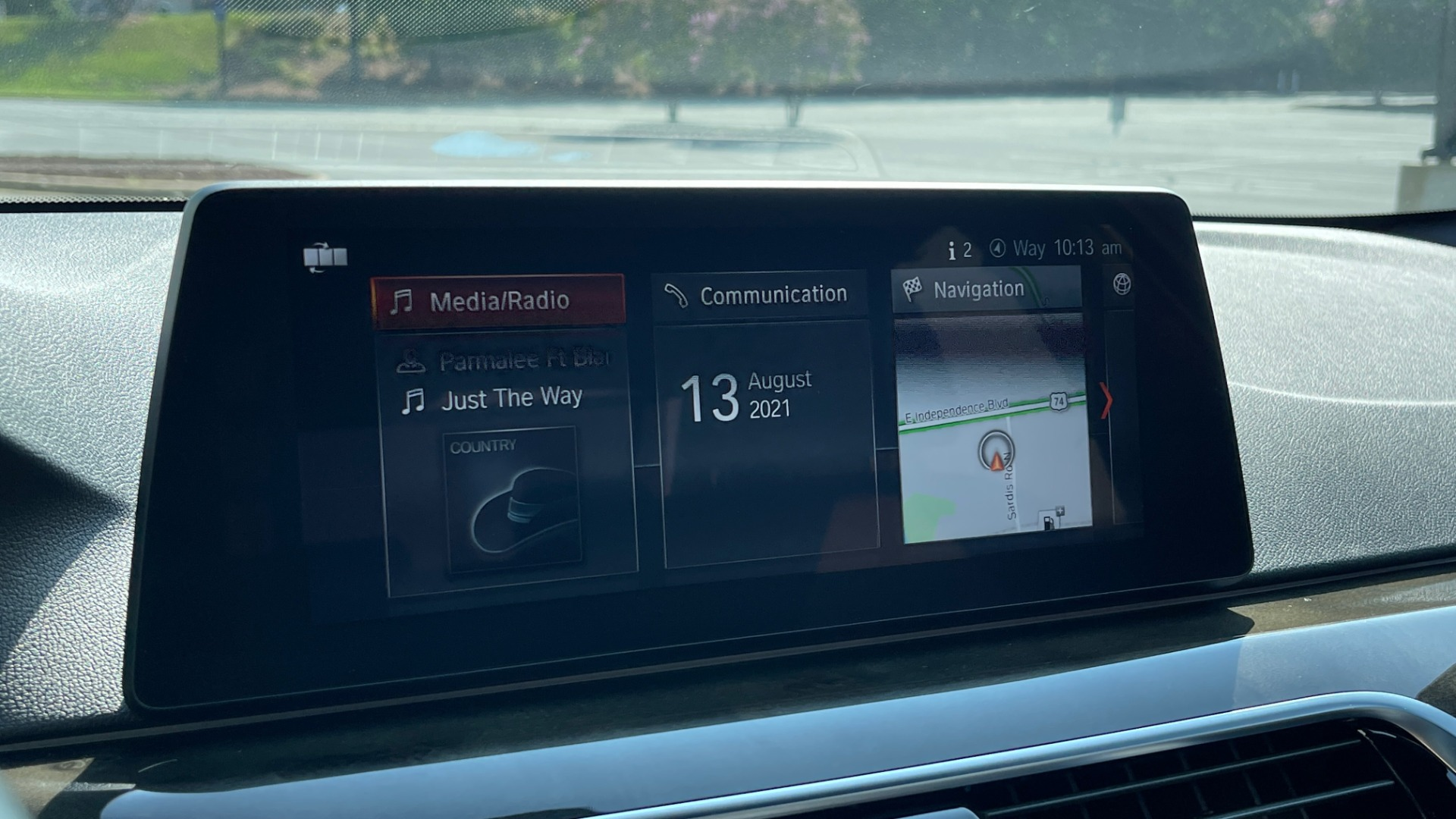 Used 2018 BMW 5 SERIES 540I XDRIVE M-SPORT / DRVR ASST / PDC / APPLE / HUD / H/K SND for sale $42,795 at Formula Imports in Charlotte NC 28227 44