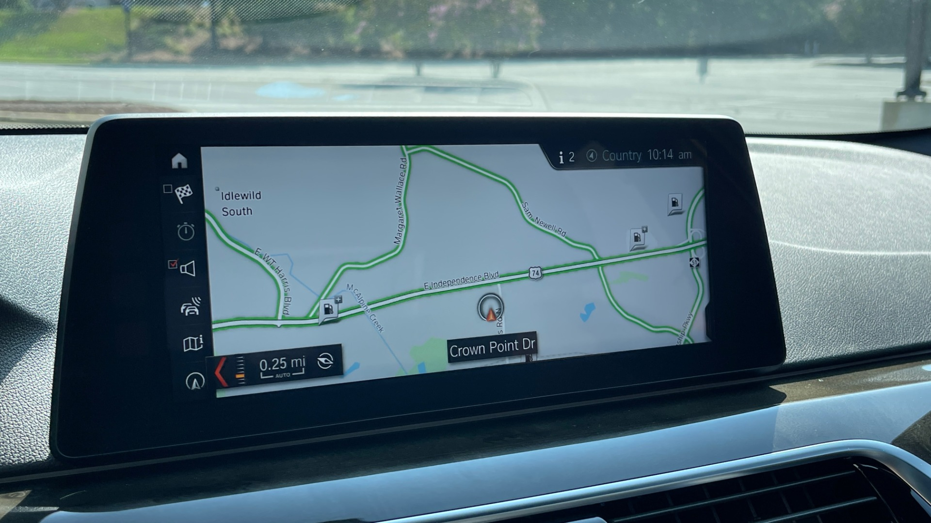 Used 2018 BMW 5 SERIES 540I XDRIVE M-SPORT / DRVR ASST / PDC / APPLE / HUD / H/K SND for sale $42,795 at Formula Imports in Charlotte NC 28227 45