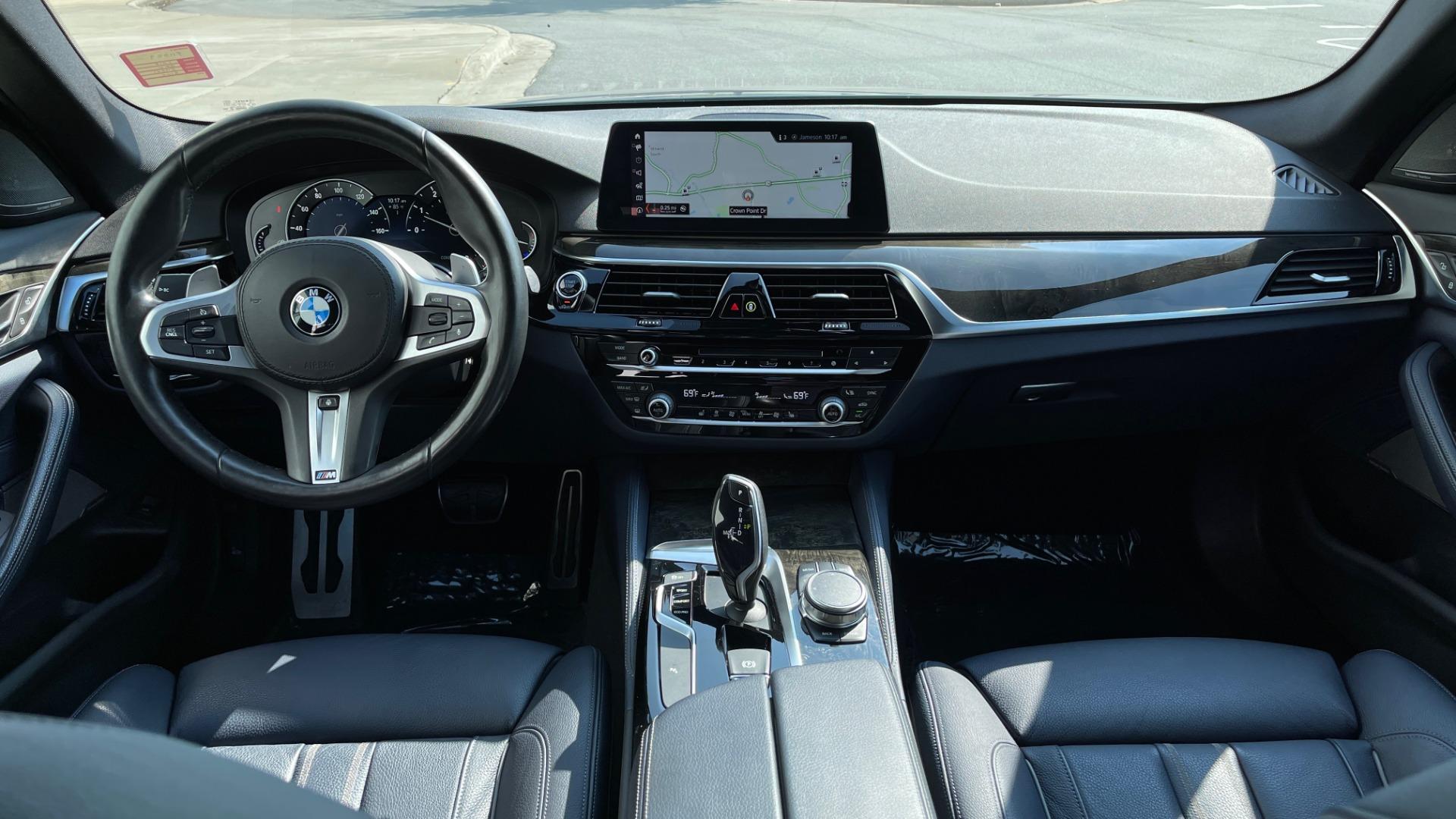 Used 2018 BMW 5 SERIES 540I XDRIVE M-SPORT / DRVR ASST / PDC / APPLE / HUD / H/K SND for sale $42,795 at Formula Imports in Charlotte NC 28227 56