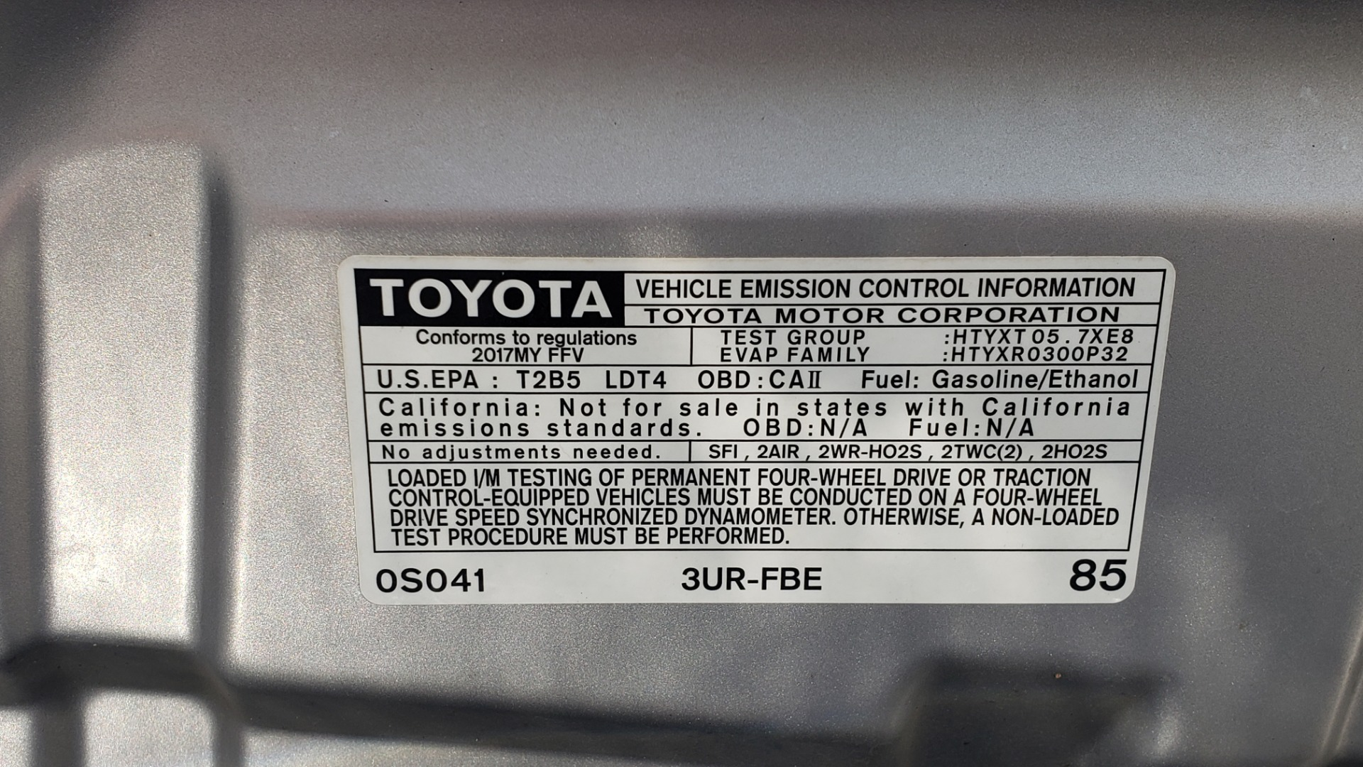 Used 2017 Toyota TUNDRA 4WD SR5 CREWMAX / 5.7L V8 / 6-SPD AUTO / NAV / REARVIEW for sale $44,395 at Formula Imports in Charlotte NC 28227 20