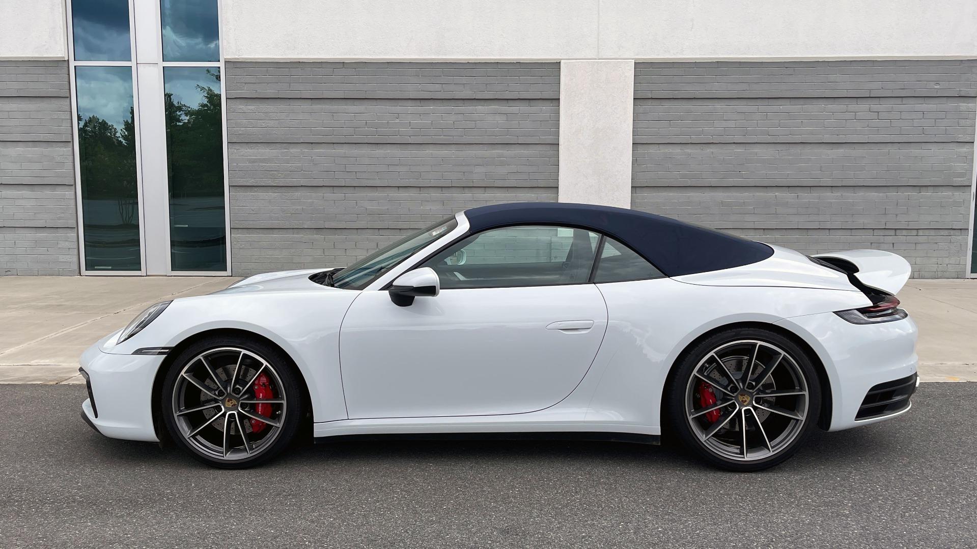 Used 2020 Porsche 911 CARRERA 4S CABRIOLET PREMIUM SPORT PKG / NAV / BOSE / LIGHT DESIGN PKG for sale $167,595 at Formula Imports in Charlotte NC 28227 10