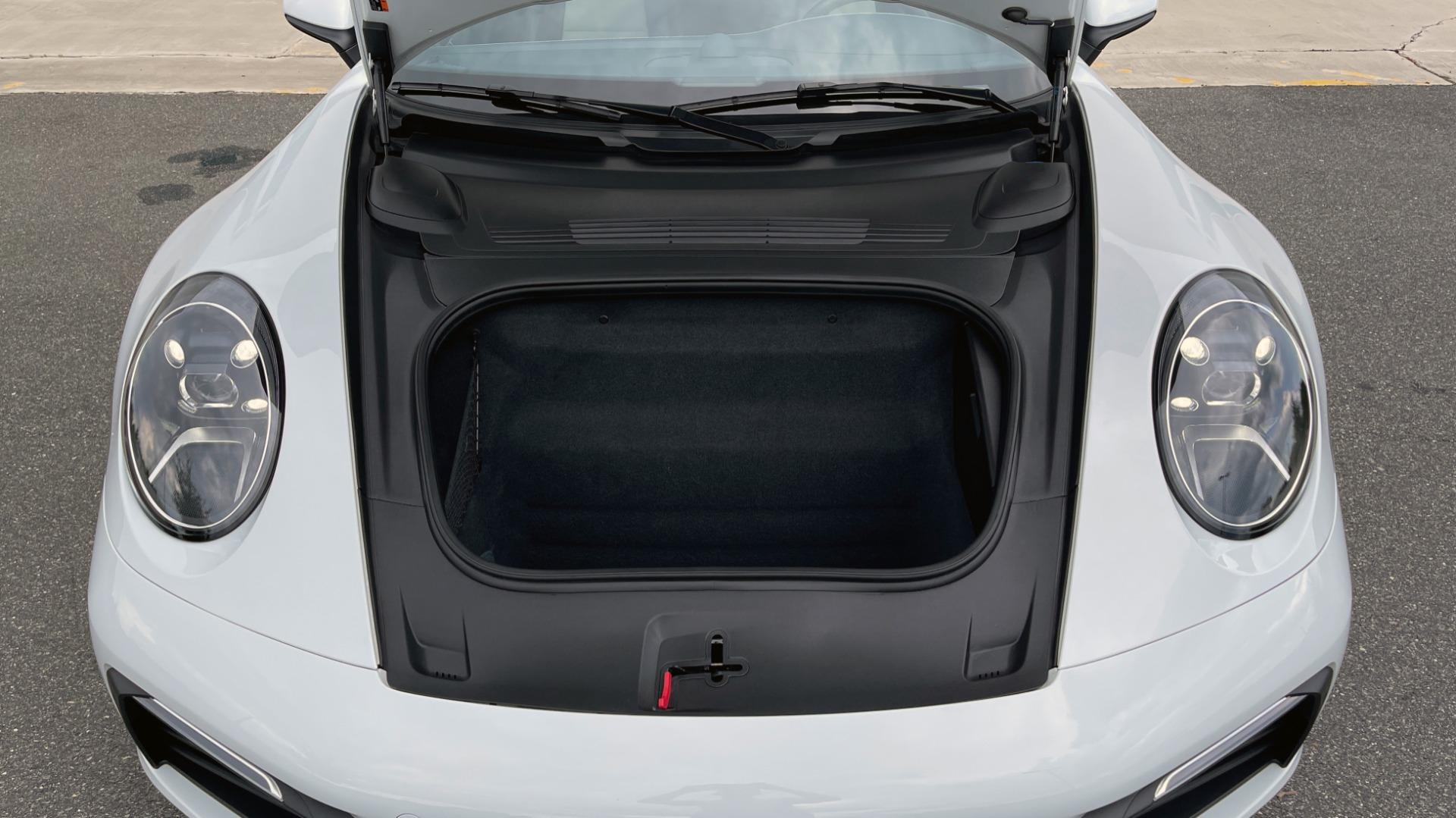 Used 2020 Porsche 911 CARRERA 4S CABRIOLET PREMIUM SPORT PKG / NAV / BOSE / LIGHT DESIGN PKG for sale $167,595 at Formula Imports in Charlotte NC 28227 16