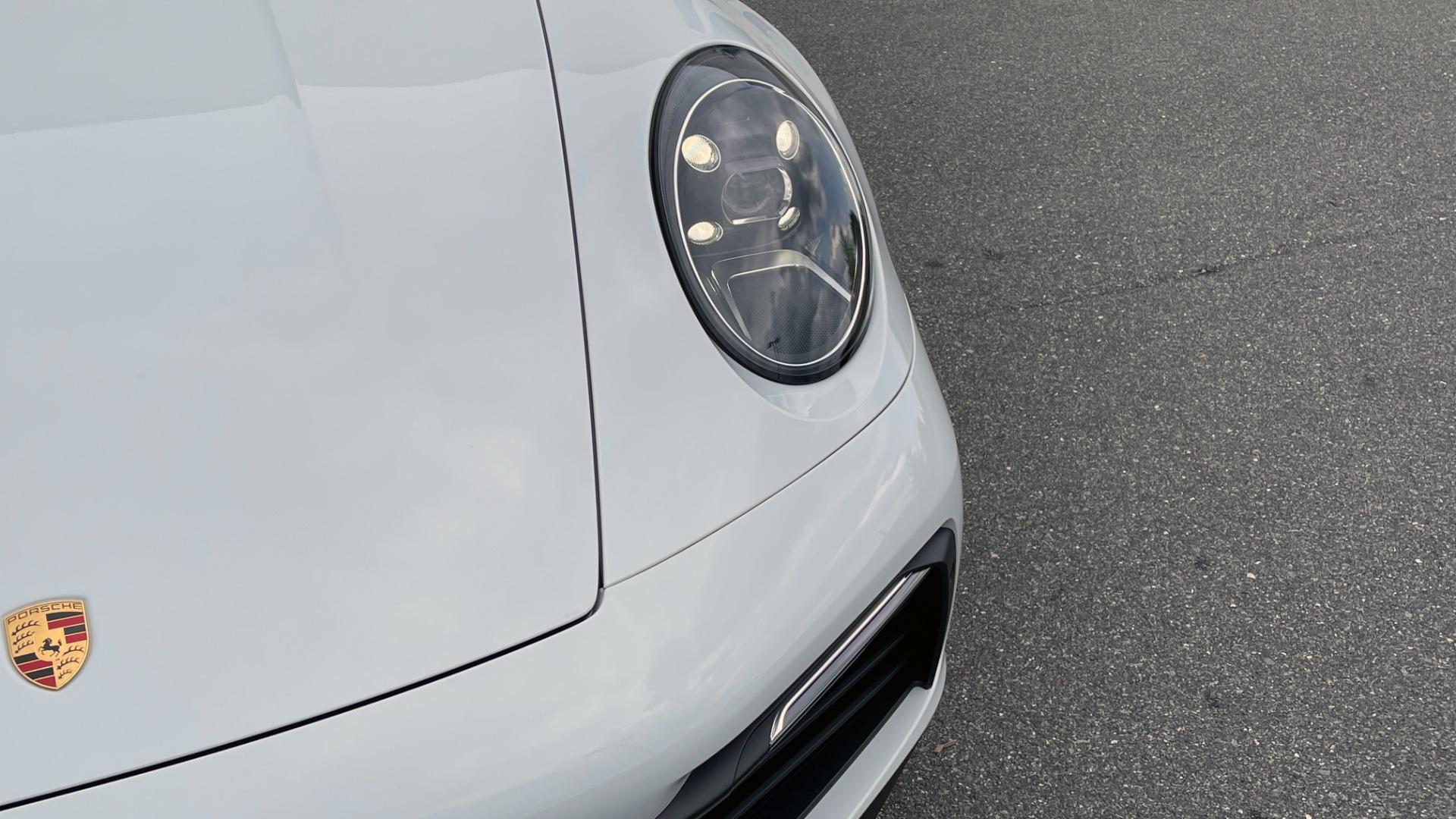 Used 2020 Porsche 911 CARRERA 4S CABRIOLET PREMIUM SPORT PKG / NAV / BOSE / LIGHT DESIGN PKG for sale $167,595 at Formula Imports in Charlotte NC 28227 23