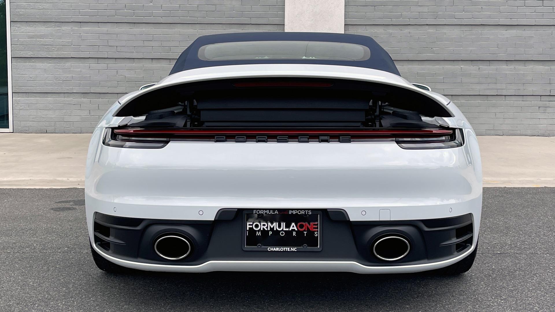 Used 2020 Porsche 911 CARRERA 4S CABRIOLET PREMIUM SPORT PKG / NAV / BOSE / LIGHT DESIGN PKG for sale $167,595 at Formula Imports in Charlotte NC 28227 32