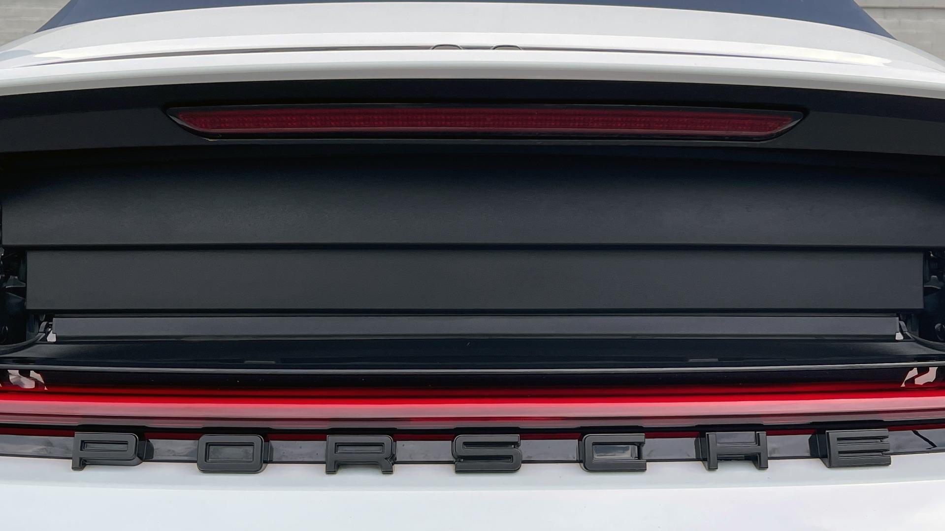 Used 2020 Porsche 911 CARRERA 4S CABRIOLET PREMIUM SPORT PKG / NAV / BOSE / LIGHT DESIGN PKG for sale $167,595 at Formula Imports in Charlotte NC 28227 34