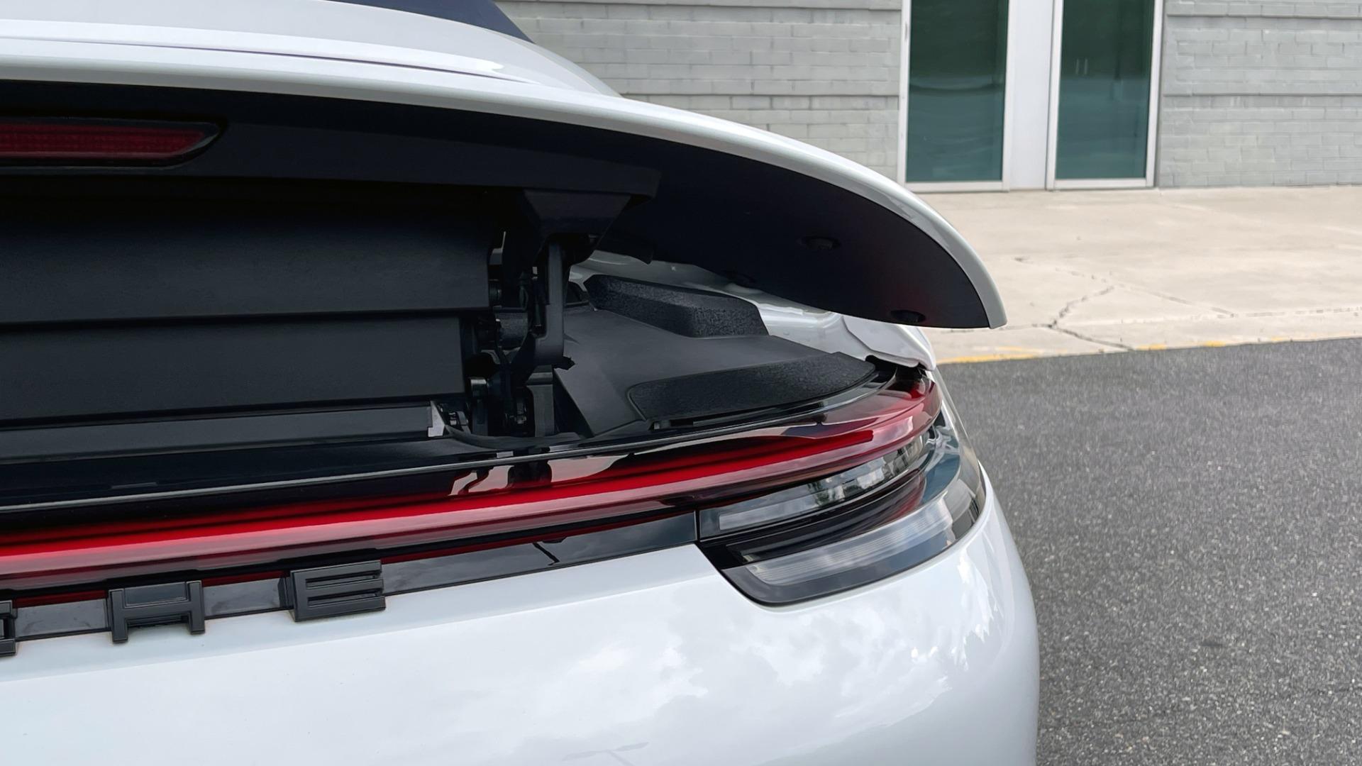 Used 2020 Porsche 911 CARRERA 4S CABRIOLET PREMIUM SPORT PKG / NAV / BOSE / LIGHT DESIGN PKG for sale $167,595 at Formula Imports in Charlotte NC 28227 35