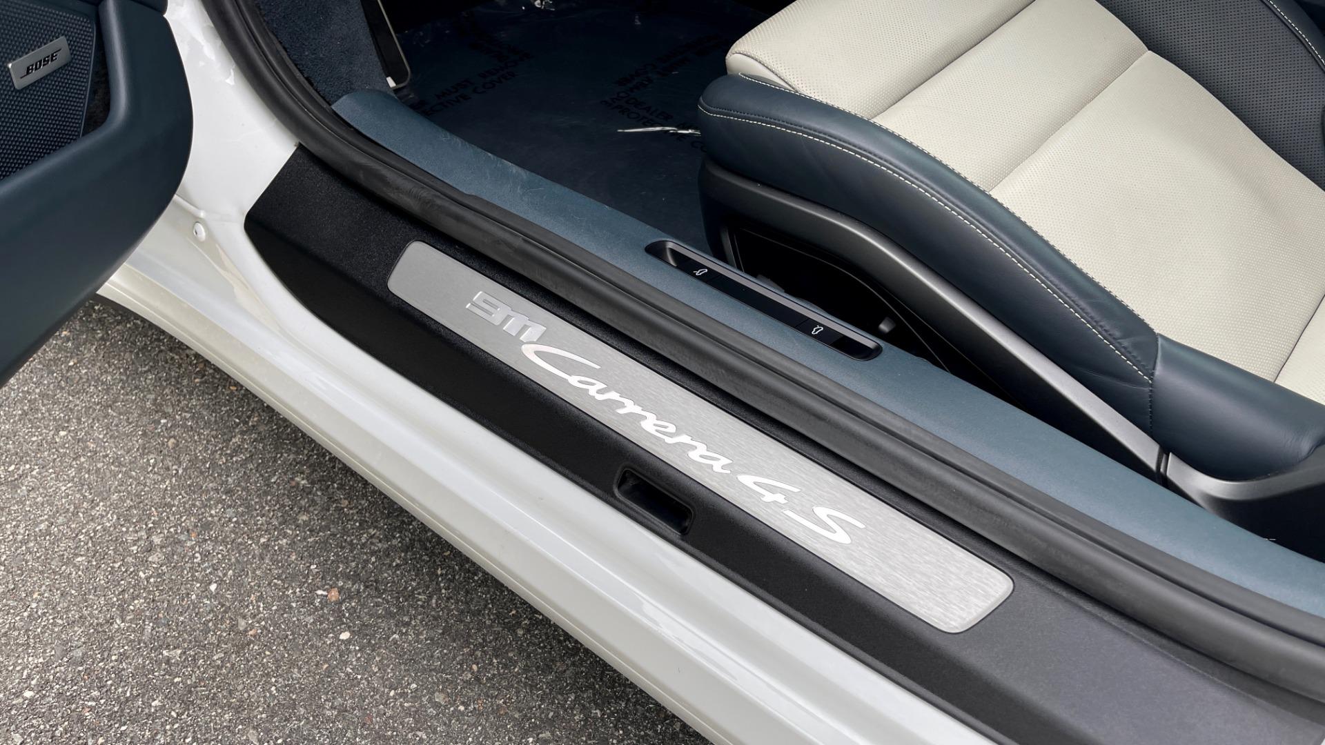 Used 2020 Porsche 911 CARRERA 4S CABRIOLET PREMIUM SPORT PKG / NAV / BOSE / LIGHT DESIGN PKG for sale $167,595 at Formula Imports in Charlotte NC 28227 41