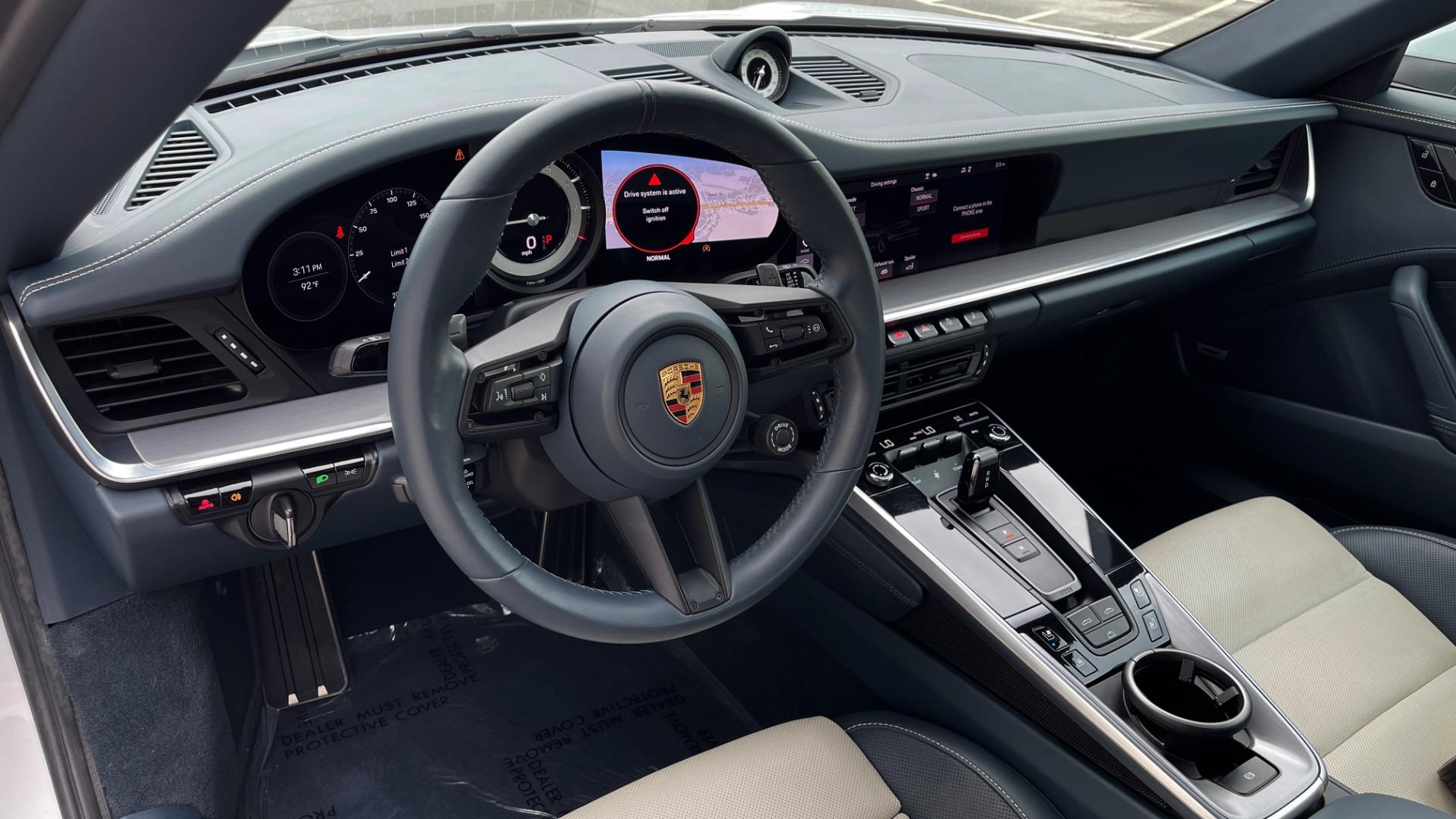 Used 2020 Porsche 911 CARRERA 4S CABRIOLET PREMIUM SPORT PKG / NAV / BOSE / LIGHT DESIGN PKG for sale $167,595 at Formula Imports in Charlotte NC 28227 44