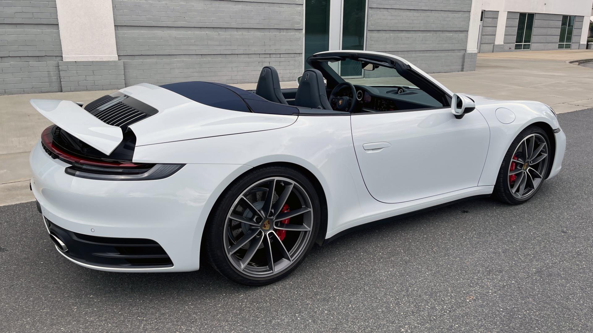 Used 2020 Porsche 911 CARRERA 4S CABRIOLET PREMIUM SPORT PKG / NAV / BOSE / LIGHT DESIGN PKG for sale $167,595 at Formula Imports in Charlotte NC 28227 5