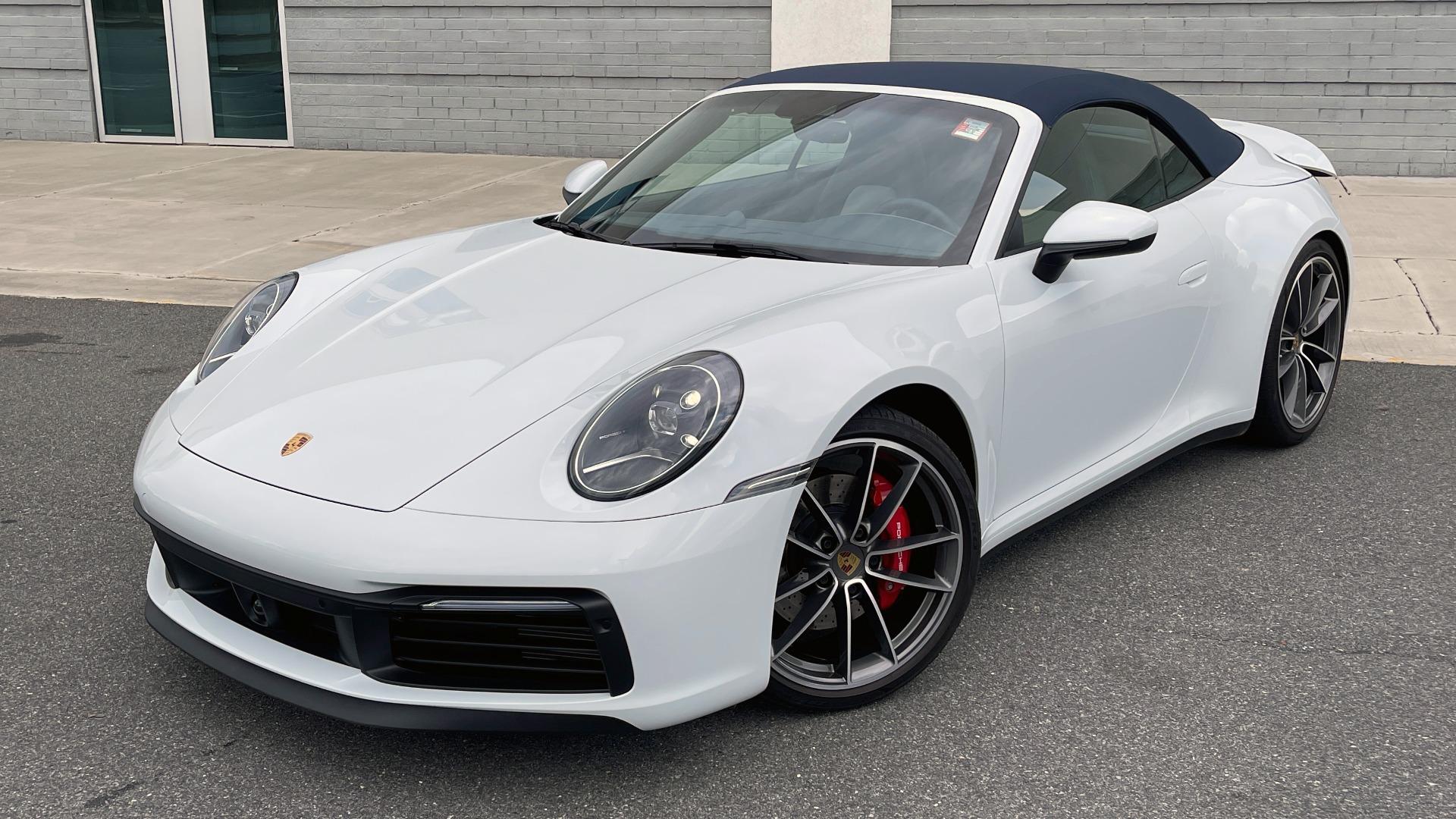 Used 2020 Porsche 911 CARRERA 4S CABRIOLET PREMIUM SPORT PKG / NAV / BOSE / LIGHT DESIGN PKG for sale $167,595 at Formula Imports in Charlotte NC 28227 6