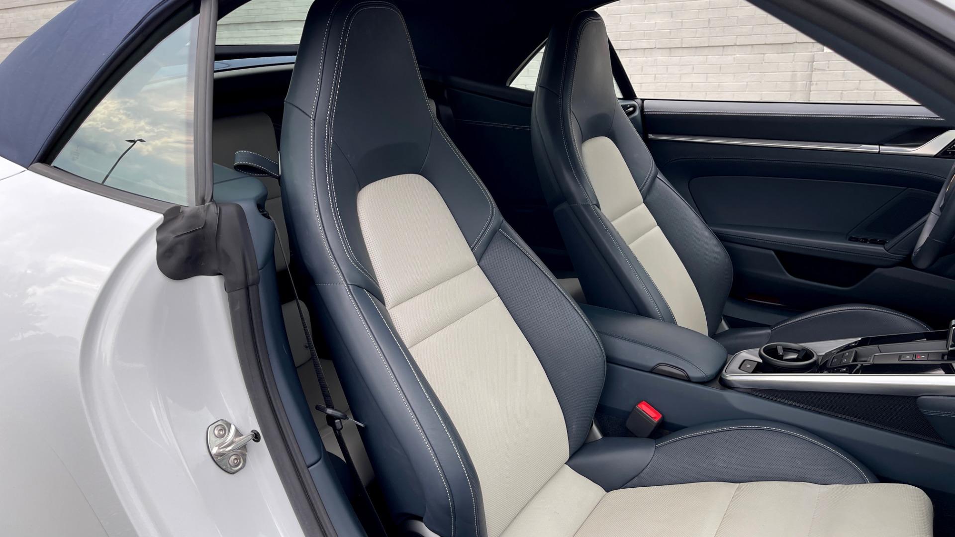 Used 2020 Porsche 911 CARRERA 4S CABRIOLET PREMIUM SPORT PKG / NAV / BOSE / LIGHT DESIGN PKG for sale $167,595 at Formula Imports in Charlotte NC 28227 75