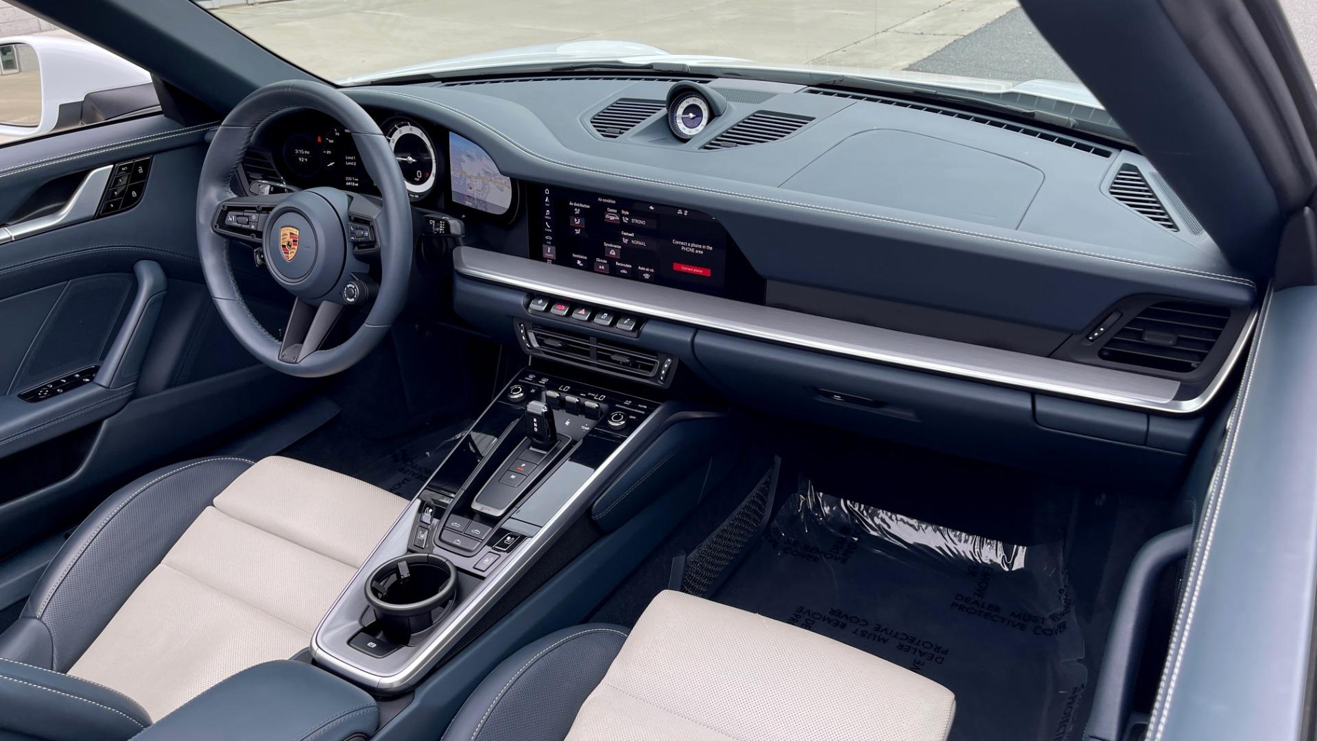 Used 2020 Porsche 911 CARRERA 4S CABRIOLET PREMIUM SPORT PKG / NAV / BOSE / LIGHT DESIGN PKG for sale $167,595 at Formula Imports in Charlotte NC 28227 76