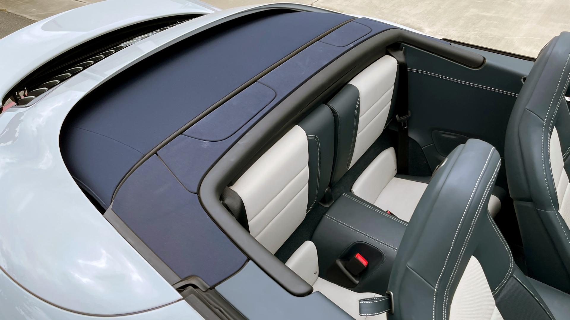 Used 2020 Porsche 911 CARRERA 4S CABRIOLET PREMIUM SPORT PKG / NAV / BOSE / LIGHT DESIGN PKG for sale $167,595 at Formula Imports in Charlotte NC 28227 77